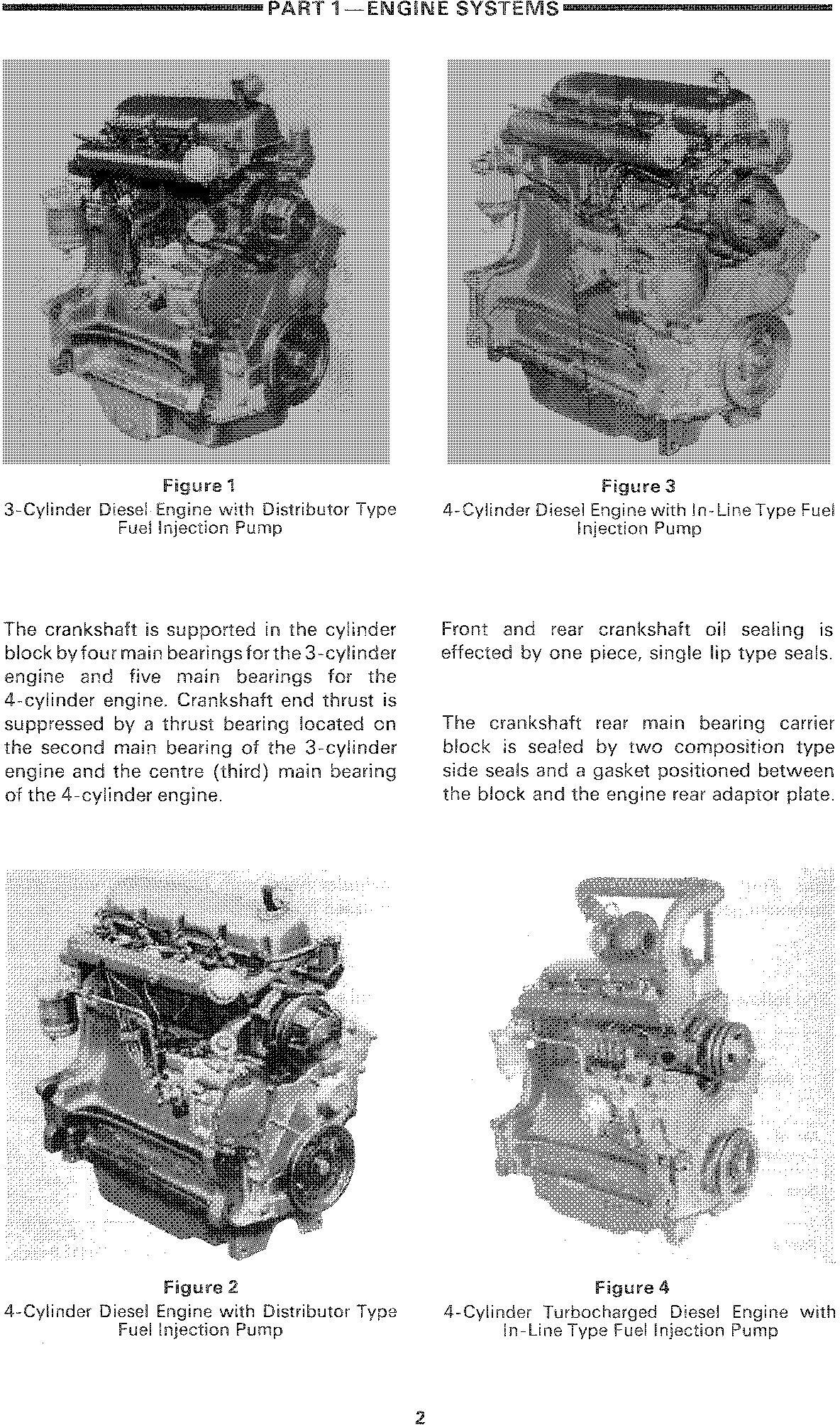Ford , New Holland 2310-8210 (xx10 Series), 3230, 3430, 3930, 4630, 4830, 5030 Tractor Service Manual - 1