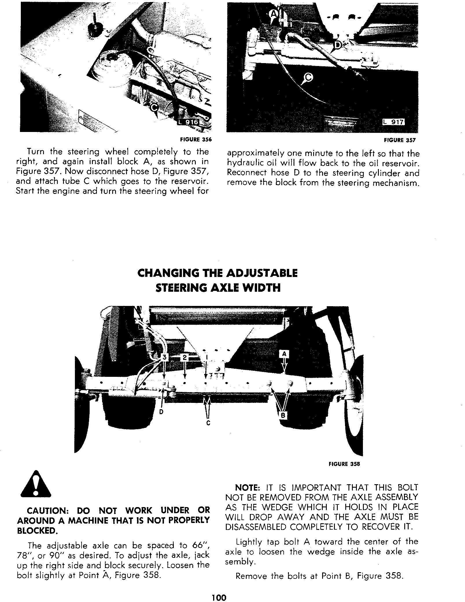 New Holland 1400, 1500 Combine Service Manual - 1