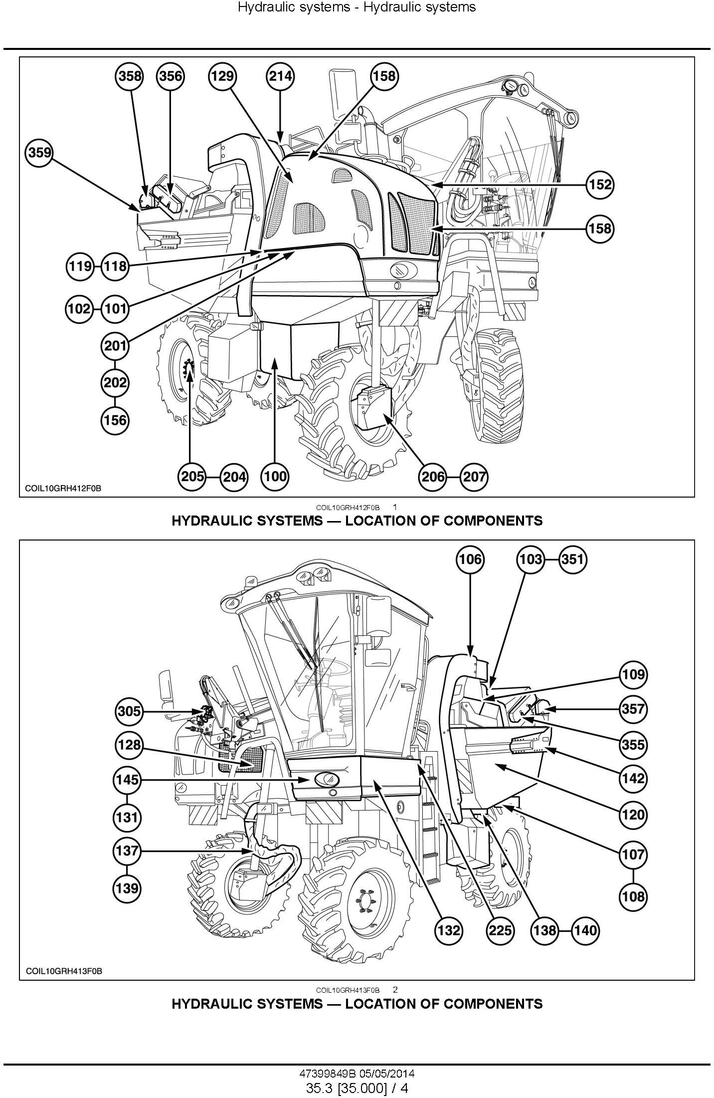 New Holland 9090X Grape Harvester Service Manual - 3