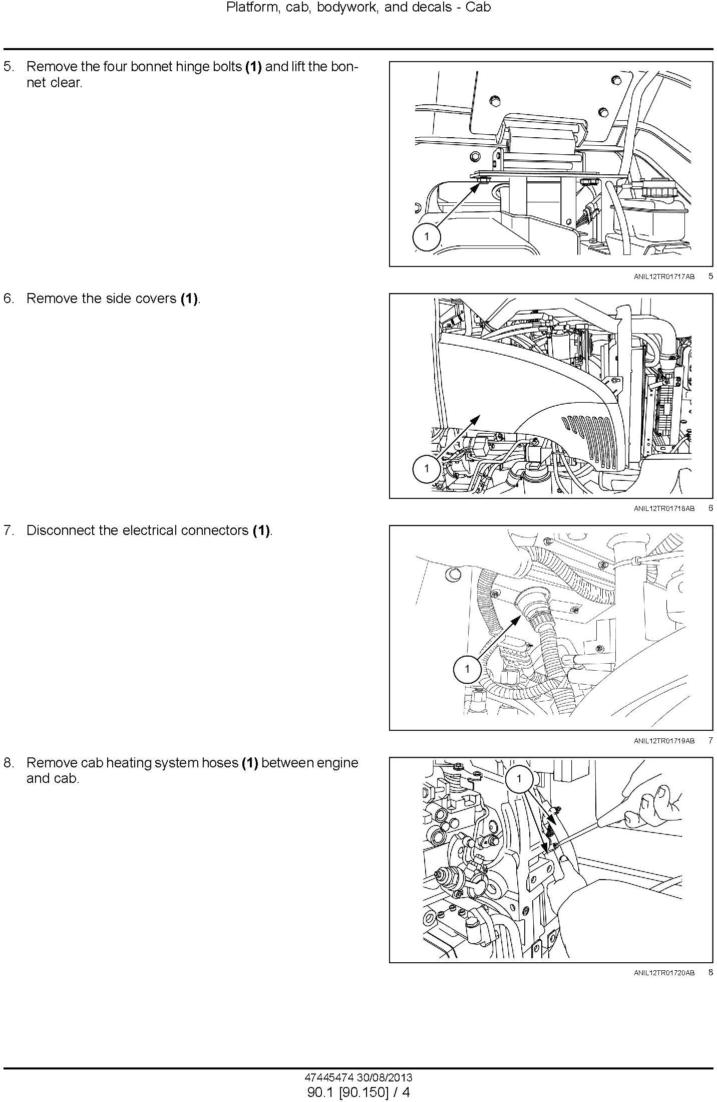 New Holland TD5.65, TD5.75, TD5.85, TD5.95, TD5.105, TD5.115 Tractor Service Manual - 3