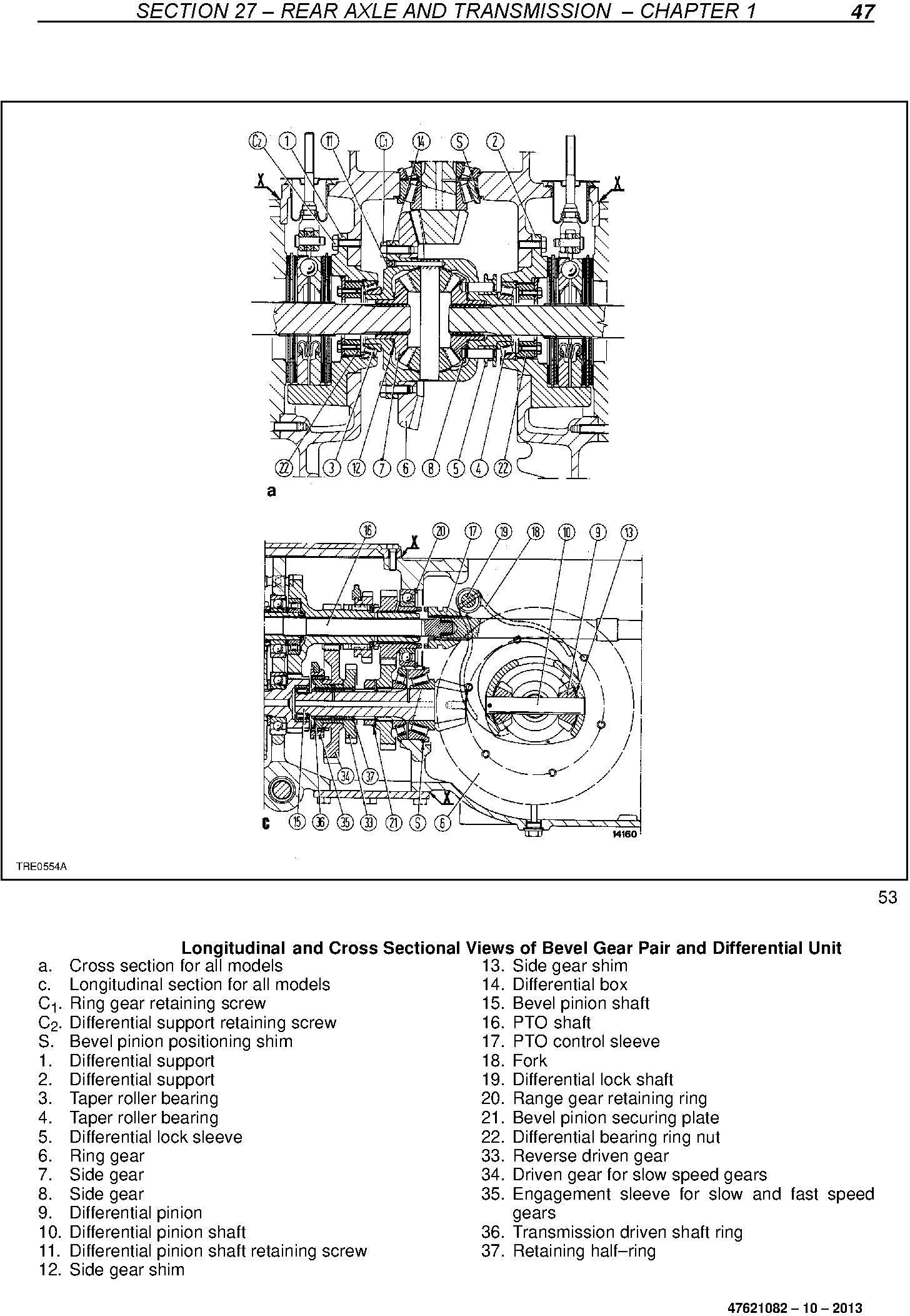 New Holland TD4020F, TD4030F, TD4040F Tractor Service Manual - 2
