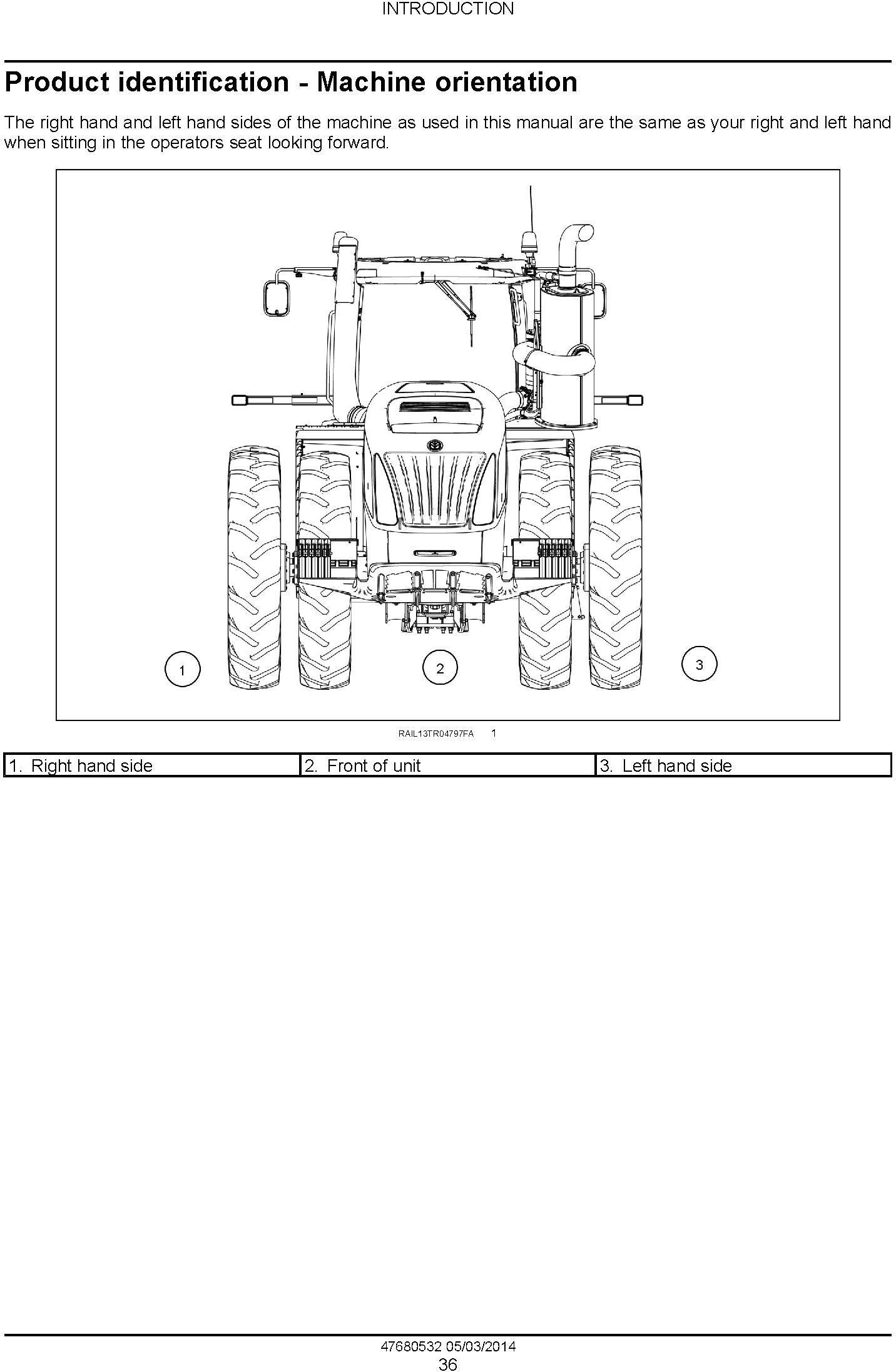New Holland T9.435, T9.480, T9.530, T9.565, T9.600, T9.645, T9.700 T4B Final USA Tractor Service Manual - 1