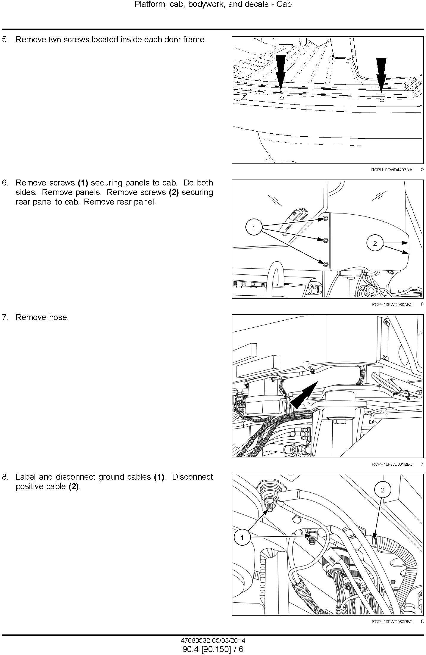 New Holland T9.435, T9.480, T9.530, T9.565, T9.600, T9.645, T9.700 T4B Final USA Tractor Service Manual - 3