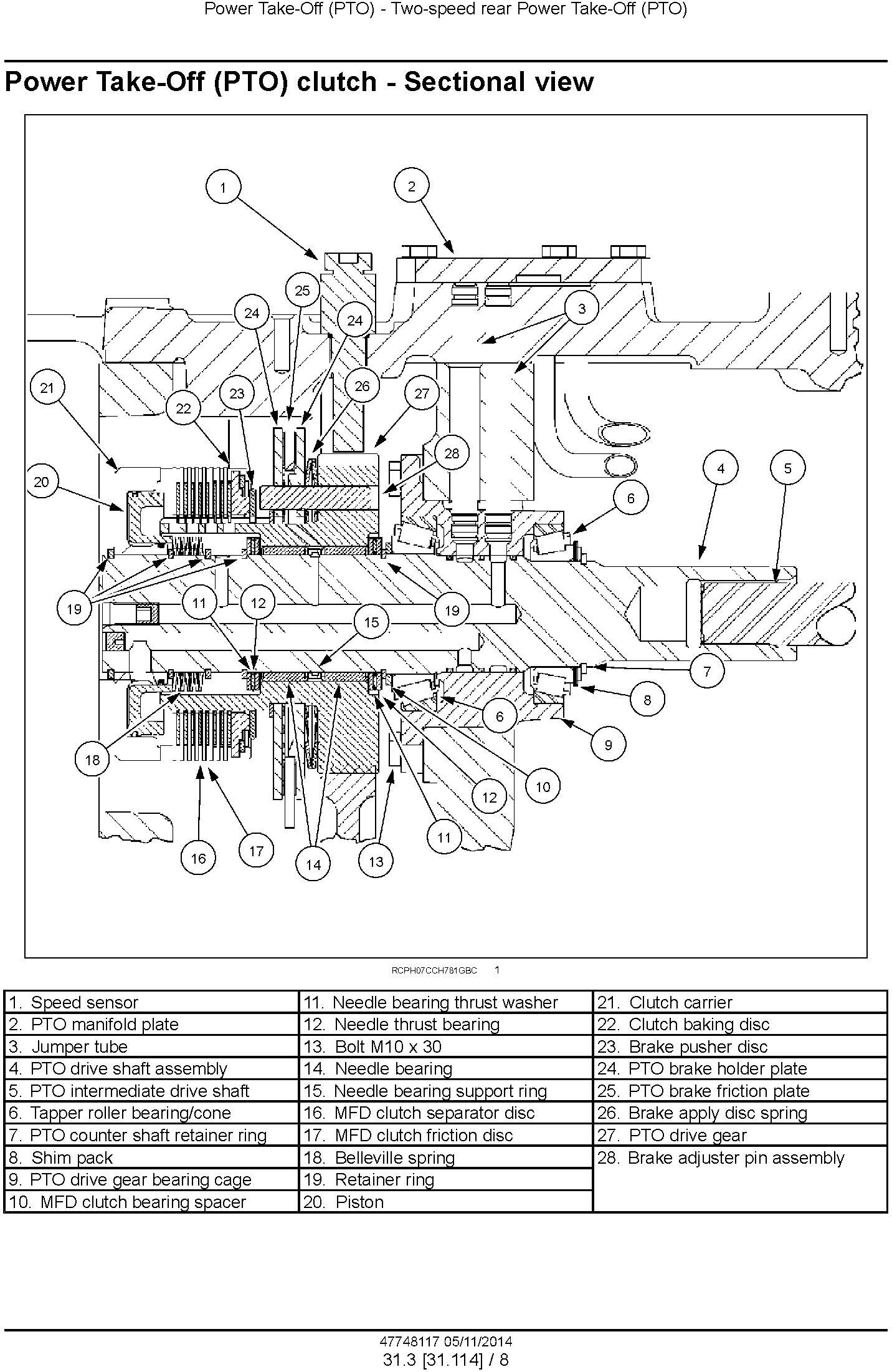 New Holland T8.320 T8.350 T8.380, T8.410, T8.435 and SmartTrax Tractor w.CVT Complete Service Manual - 3