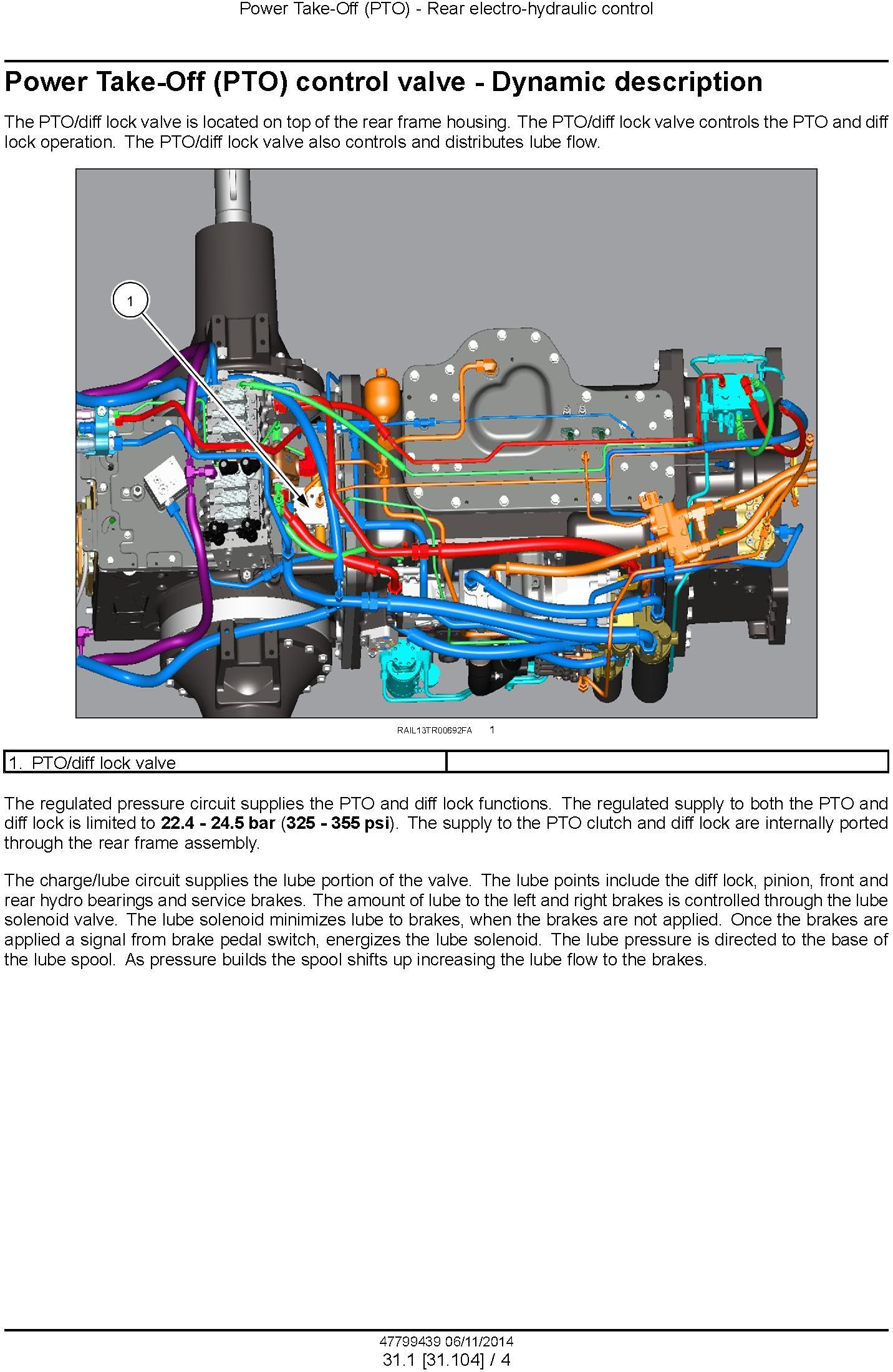 New Holland T8.320, T8.350, T8.380, T8.410, T8.435 and SmartTrax models w.CVT Tractor Service Manual - 3