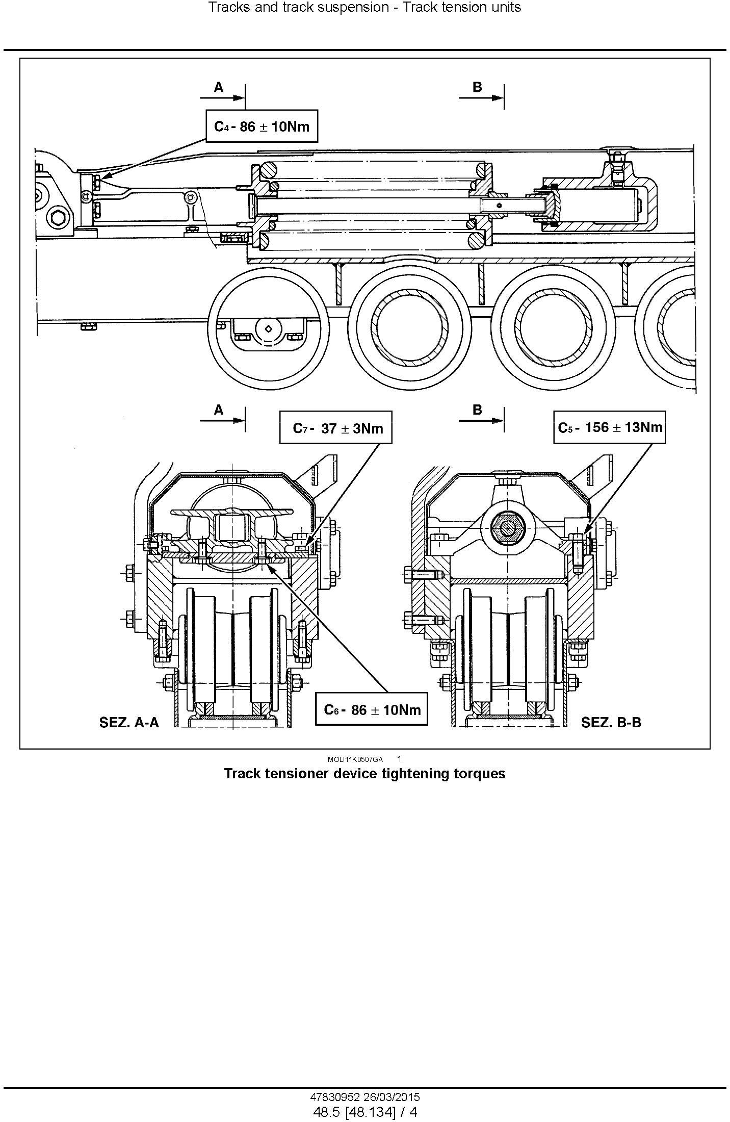 New Holland TK4020 F/V, TK4030 / F/V, TK4040 /M, TK4050 /M, TK4060 Crawler Tractor Service Manual - 3