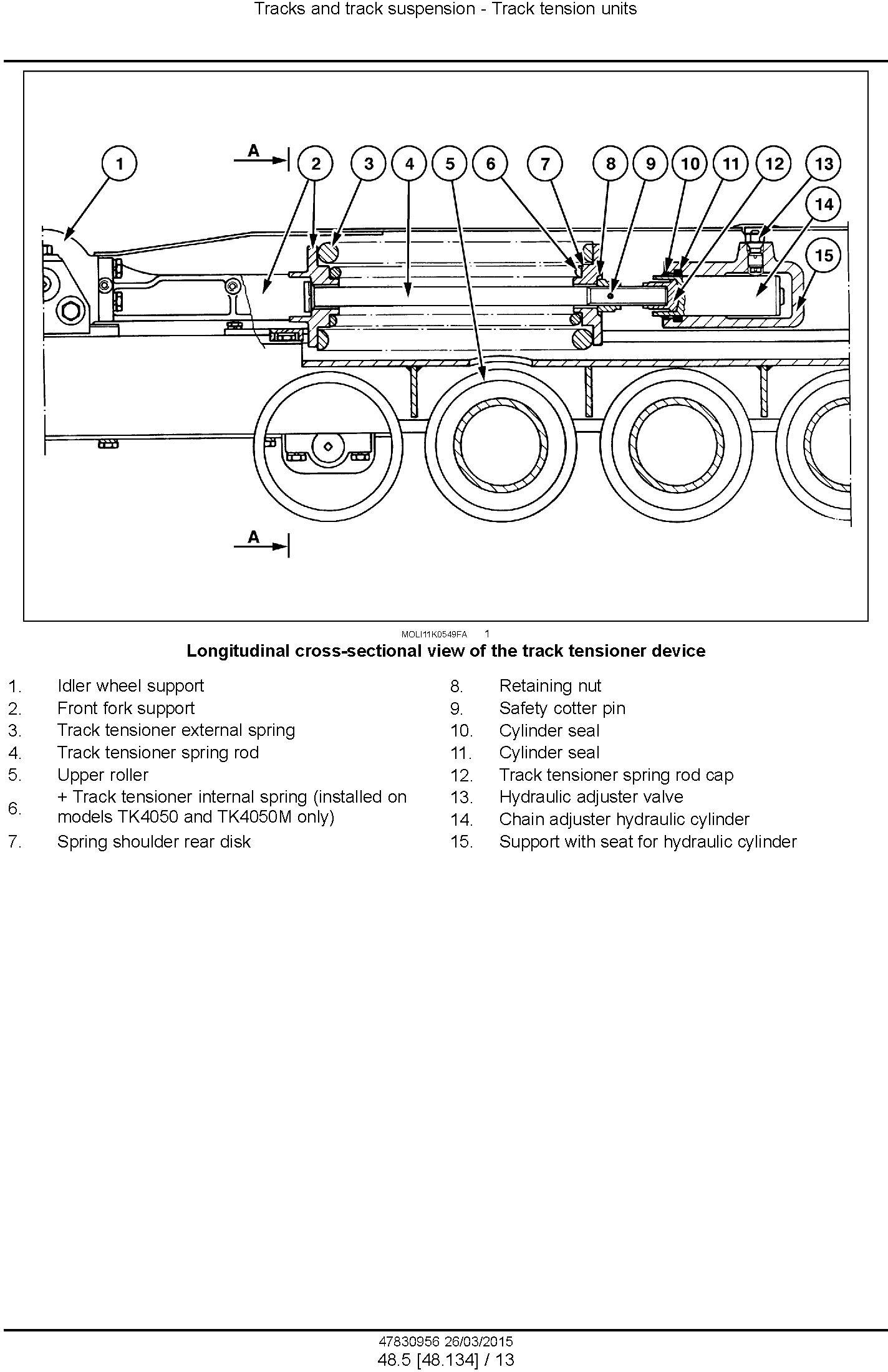 New Holland TK4030V, TK4050, TK4050M, TK4060 tractor Service Manual (North America) - 3