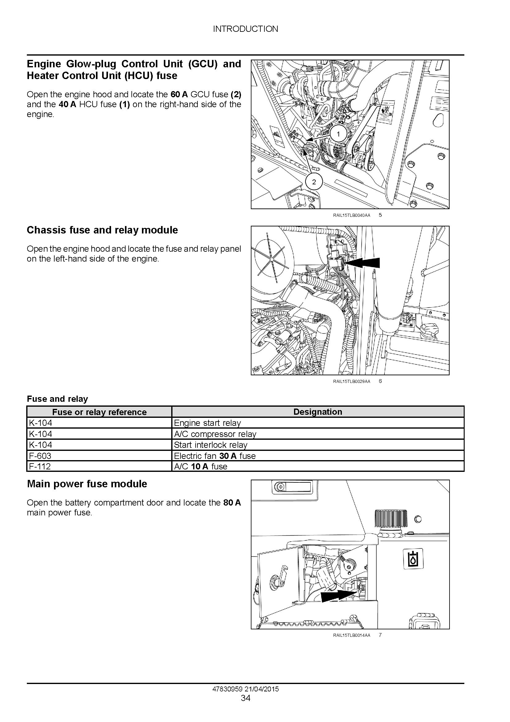 New Holland B95C, B95CTC, B110C Tier 4B (Final) Tractor Loader Backhoe Complete Service Manual - 1