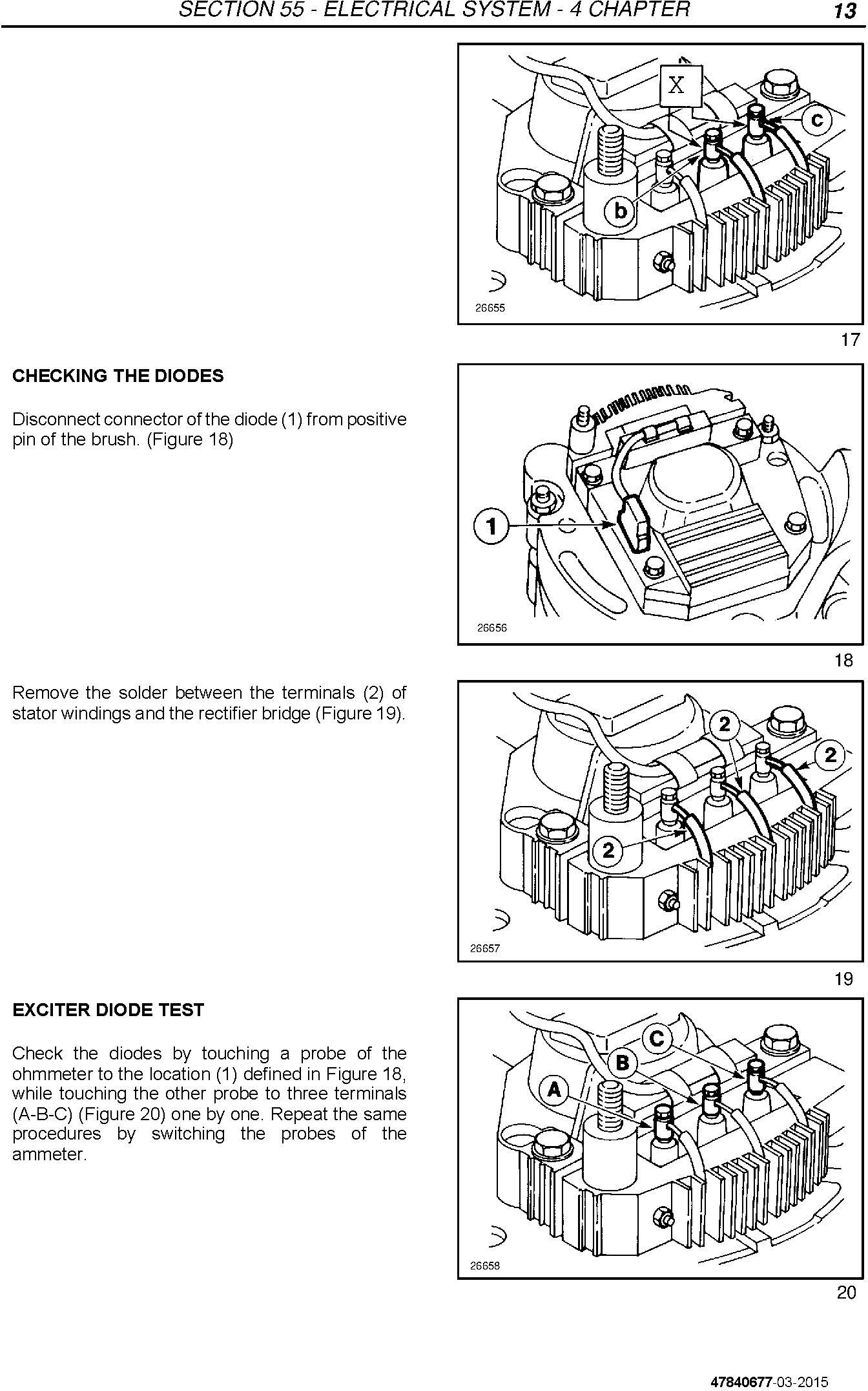 New Holland TD3.50 Tractor Service Manual - 2