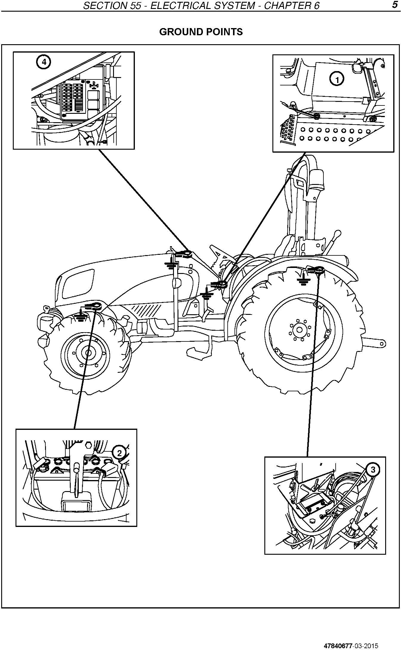 New Holland TD3.50 Tractor Service Manual - 1