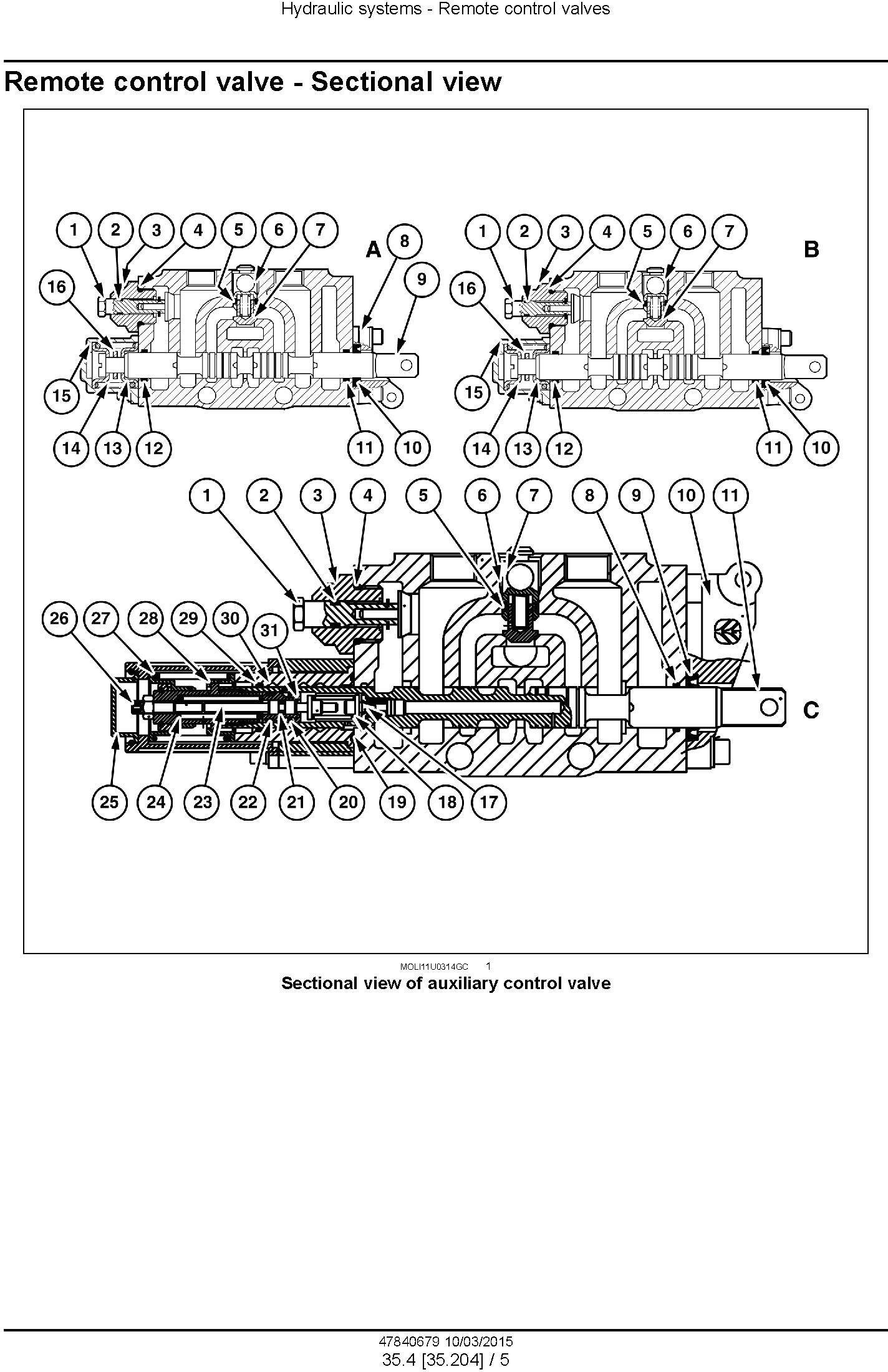 New Holland T4.85, T4.95, T4.105, T4.115 Tractor Complete Service Manual (North America) - 3