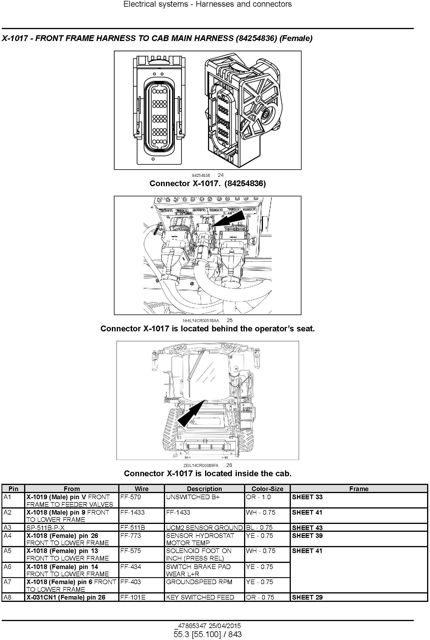 New Holland CR6.80, CR6.90, CR7.90, CR8.90, CR9.90 Combine Complete Service Manual (North America) - 3