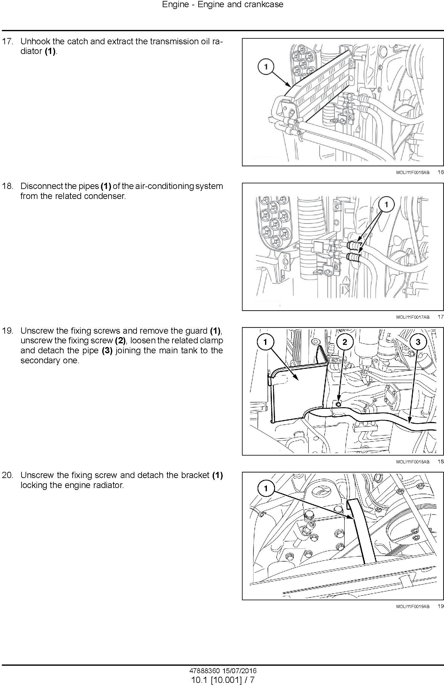 New Holland T4.75F T4.85F T4.95F T4.105F; T4.75LP T4.85LP T4.95LP T4.105LP Tractor Service Manual - 1
