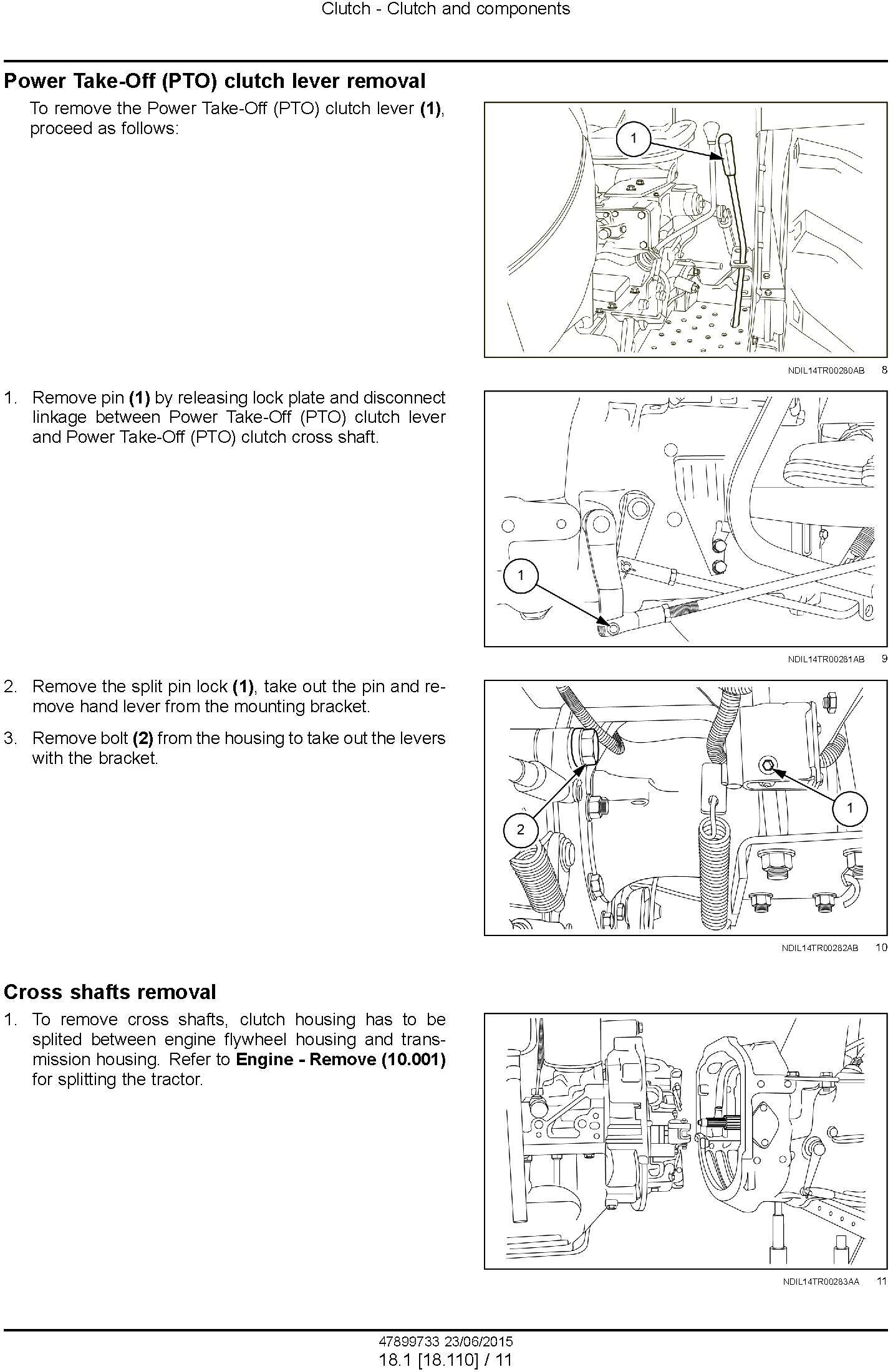 New Holland TT55, TT65, TT75 2WD or 4WD Tractor Service Manual - 3