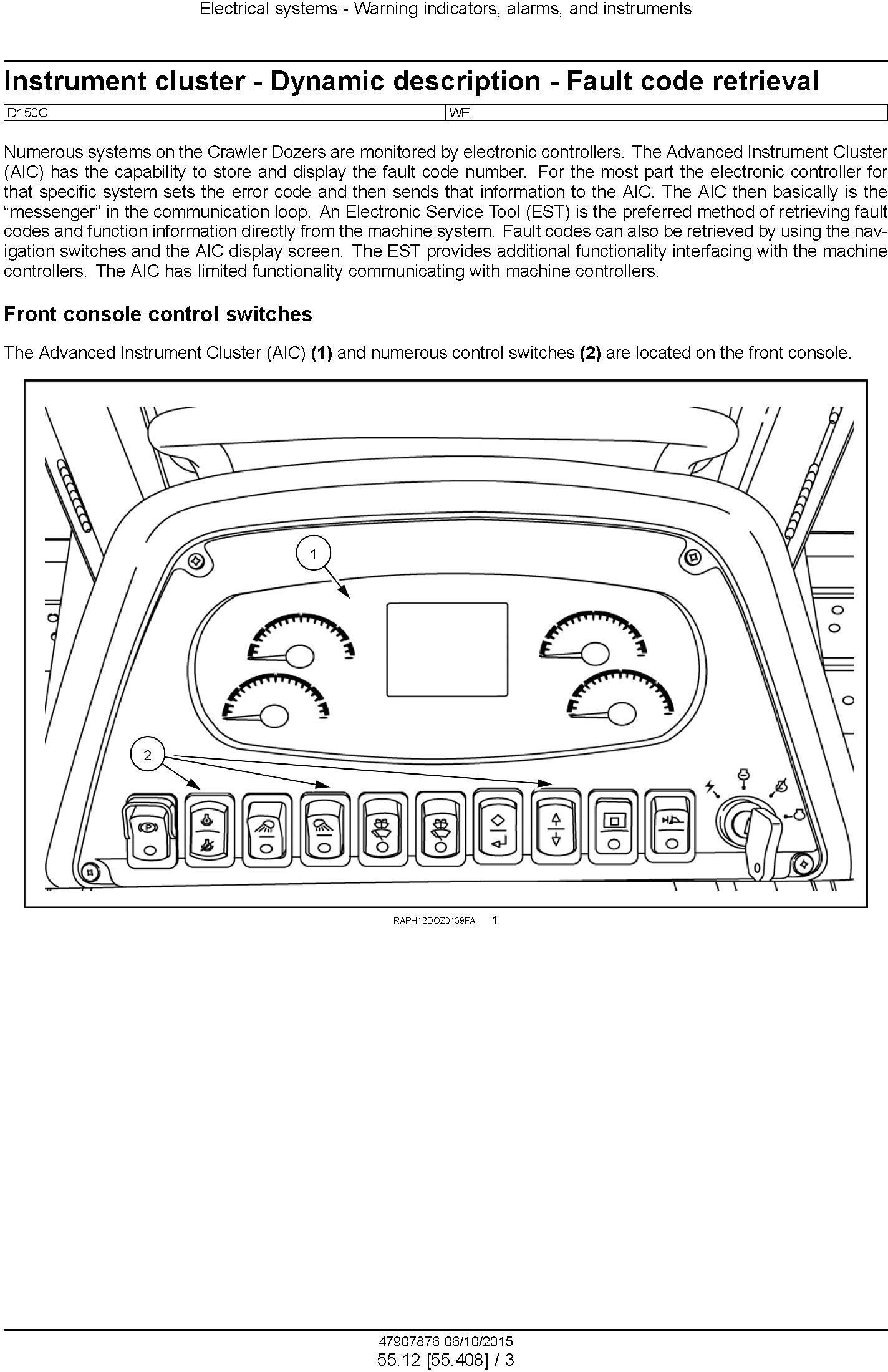 New Holland D150C Stage IIIB Crawler dozer Service Manual - 3