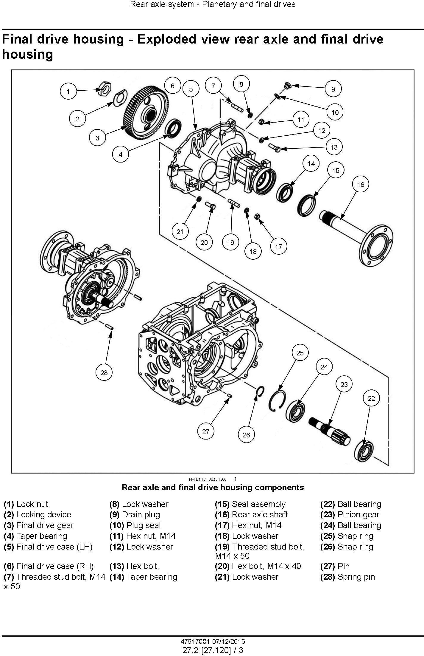 New Holland Boomer 40 ROPS, Boomer 50 ROPS Compact Tractor Service Manual (Europe) - 1