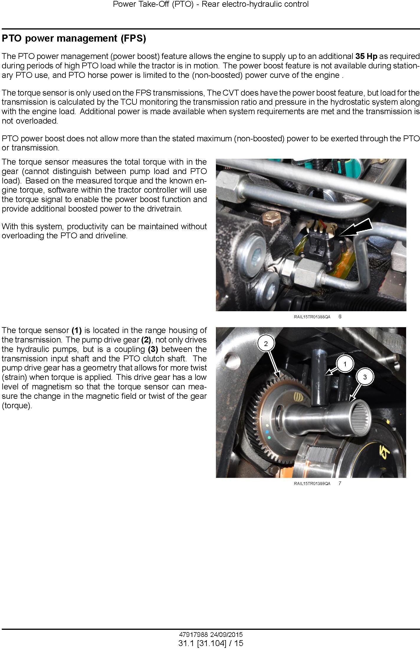 New Holland T8.320, T8.350, T8.380, T8.410, T8.435 and SmartTrax; CVT Tier 4B Tractor service manual - 3