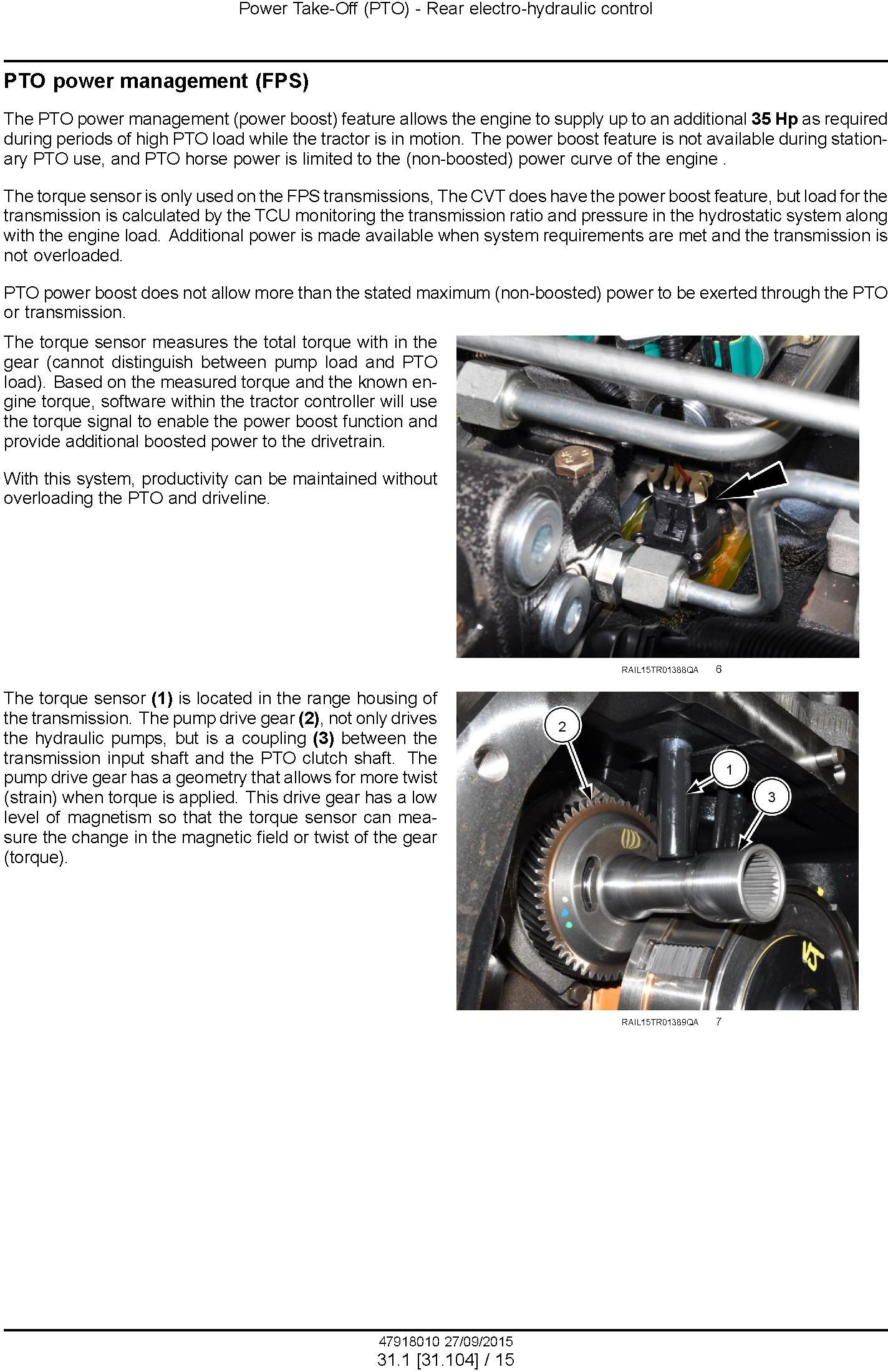 New Holland T8.320, T8.350, T8.380, T8.410, T8.435 and SmartTrax Tier 2 CVT Tractor Service Manual - 3
