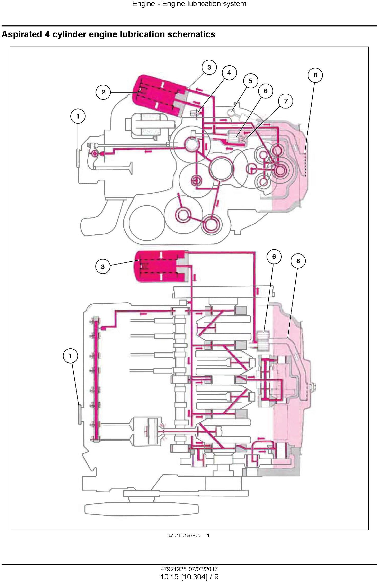 New Holland TT3840, TT3840F, TT4030, TT3880F Tractor Service Manual (Latin America) - 2