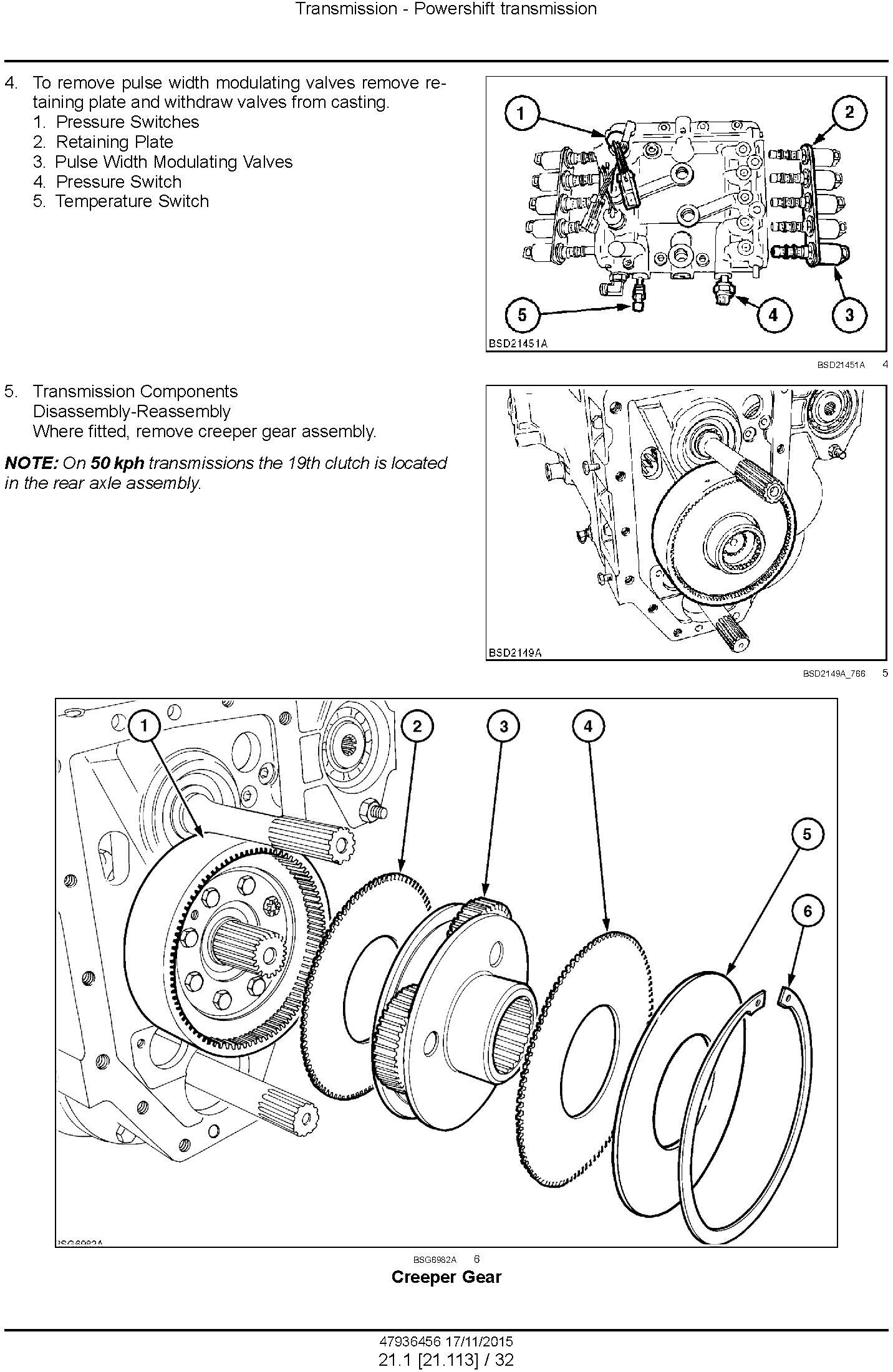New Holland T7.230, T7.245, T7.260, T7.270 and AutoCommand Tier 4B final Tractor Service Manual - 3