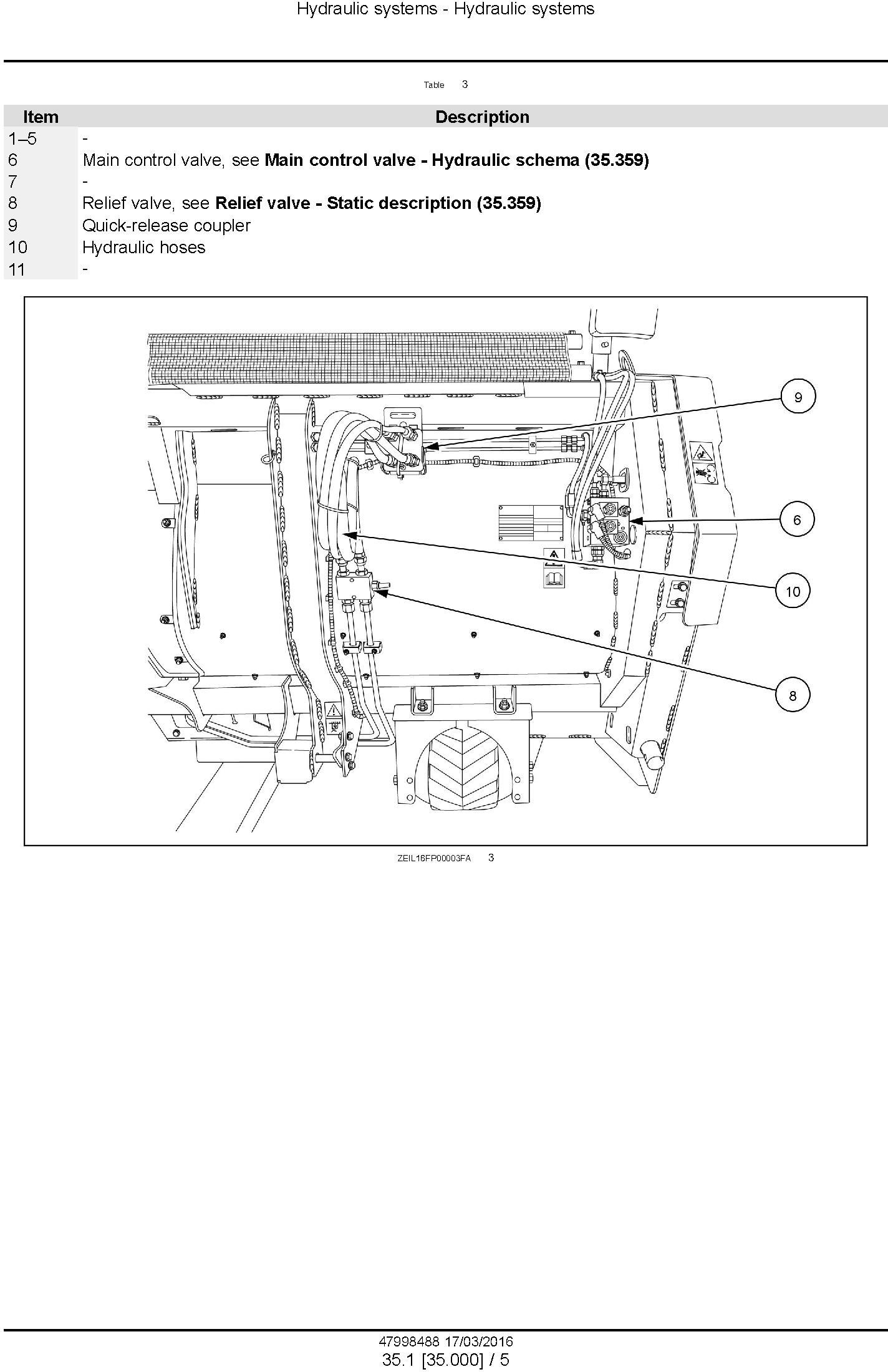 New Holland 300FP, 380FP Header (from PIN 3501) Service Manual - 1
