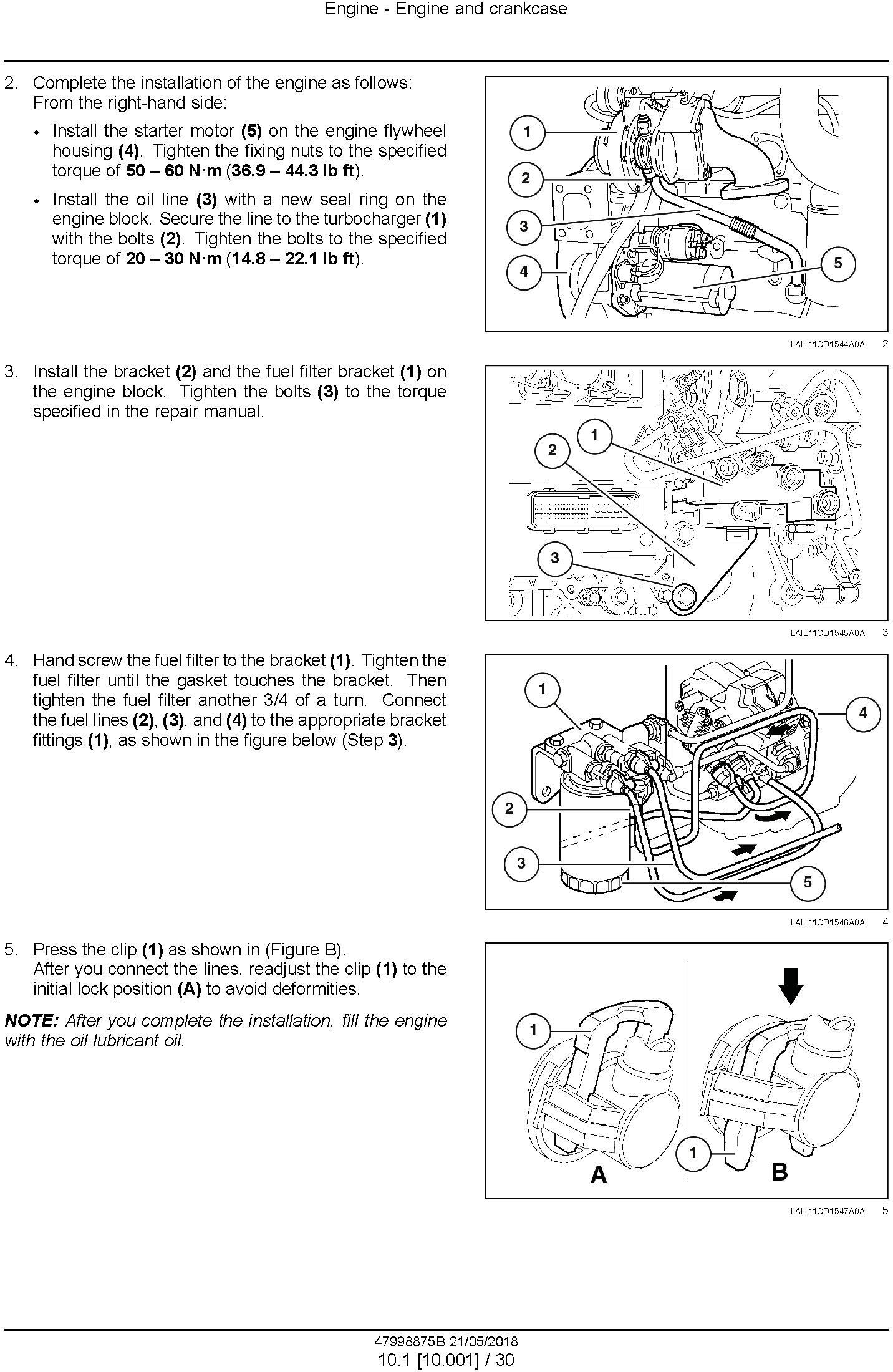 New Holland D150B XLT Crawler Dozer Service Manual (Brasil) - 2