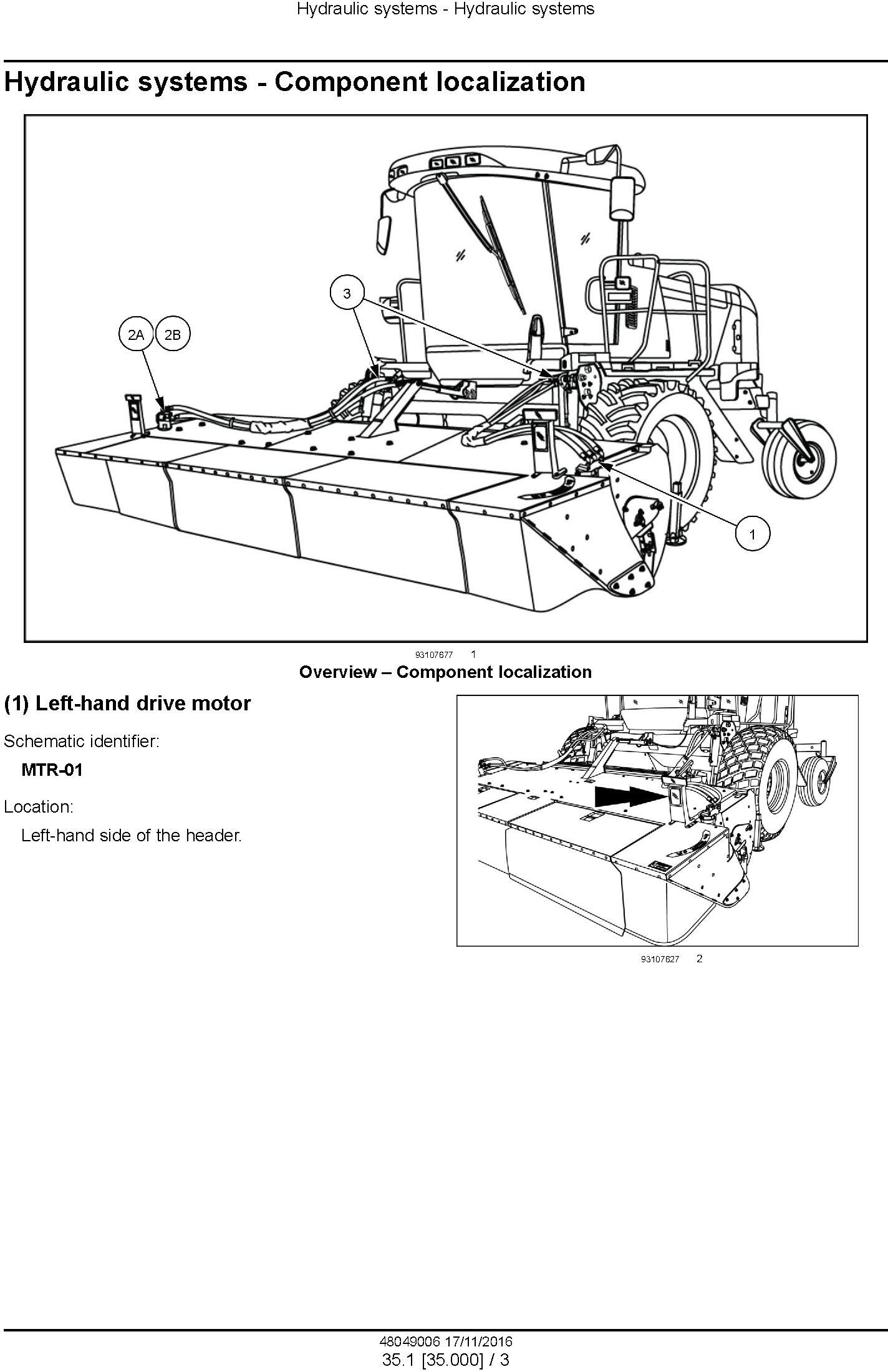 New Holland Durabine 416, 419, Durabine 416 Specialty Disc header Service Manual - 2