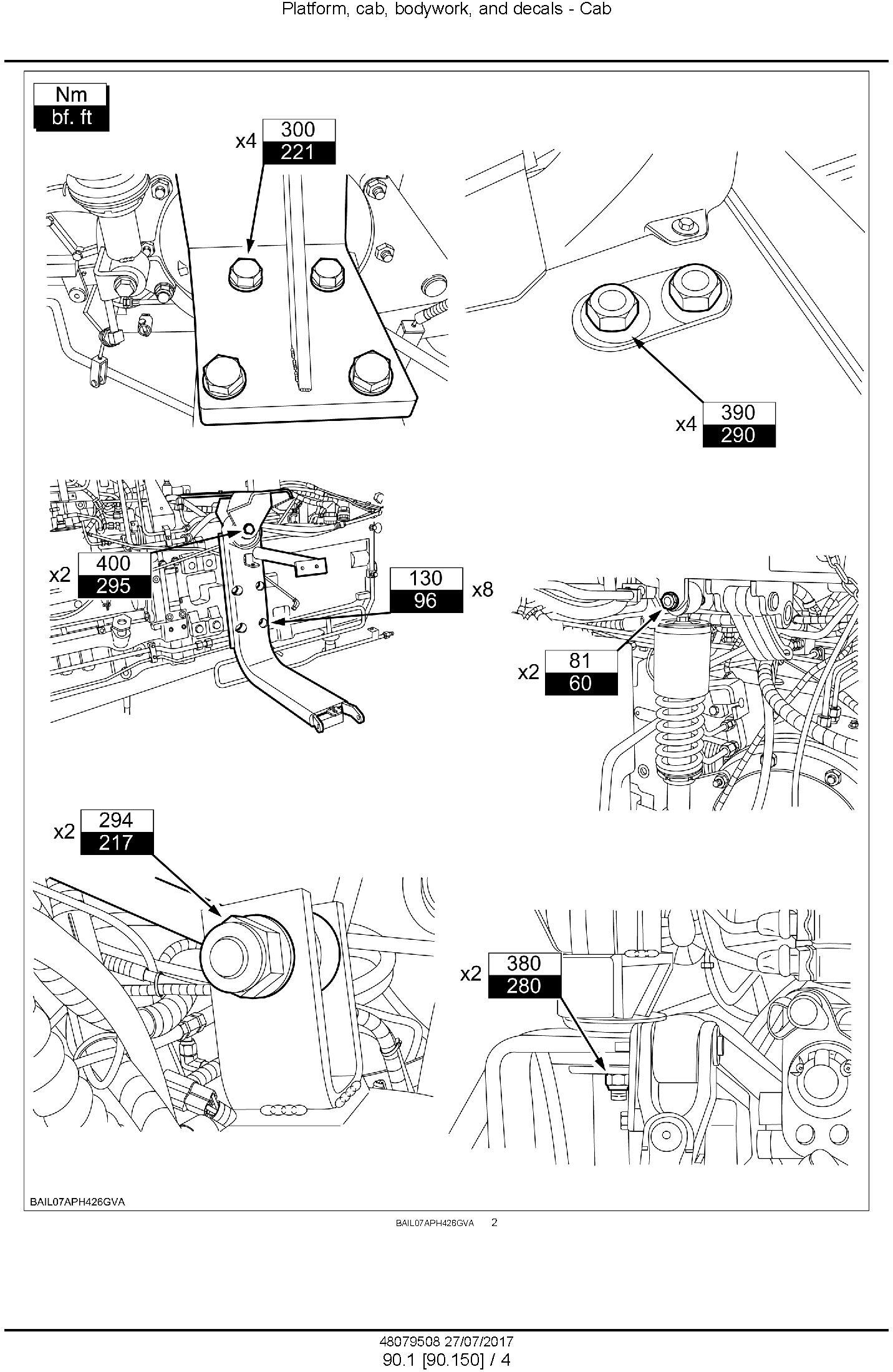 New Holland T7.150, T7.180 Tractor Service Manual (Africa) - 1