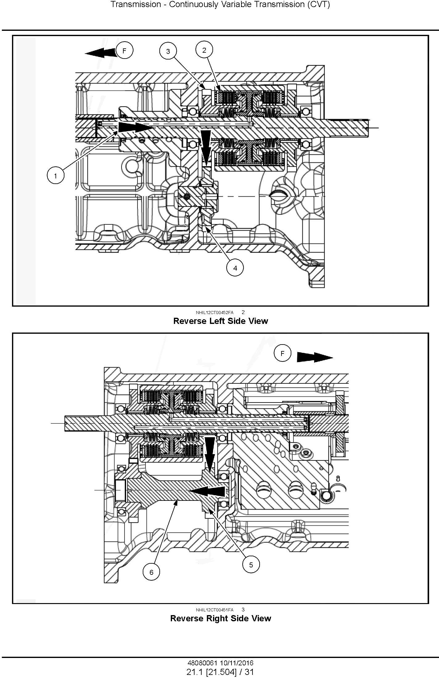 New Holland Boomer 3040 CVT,Boomer 3045 CVT, Boomer 3050 CVT Compact tractor Complete service manual - 2