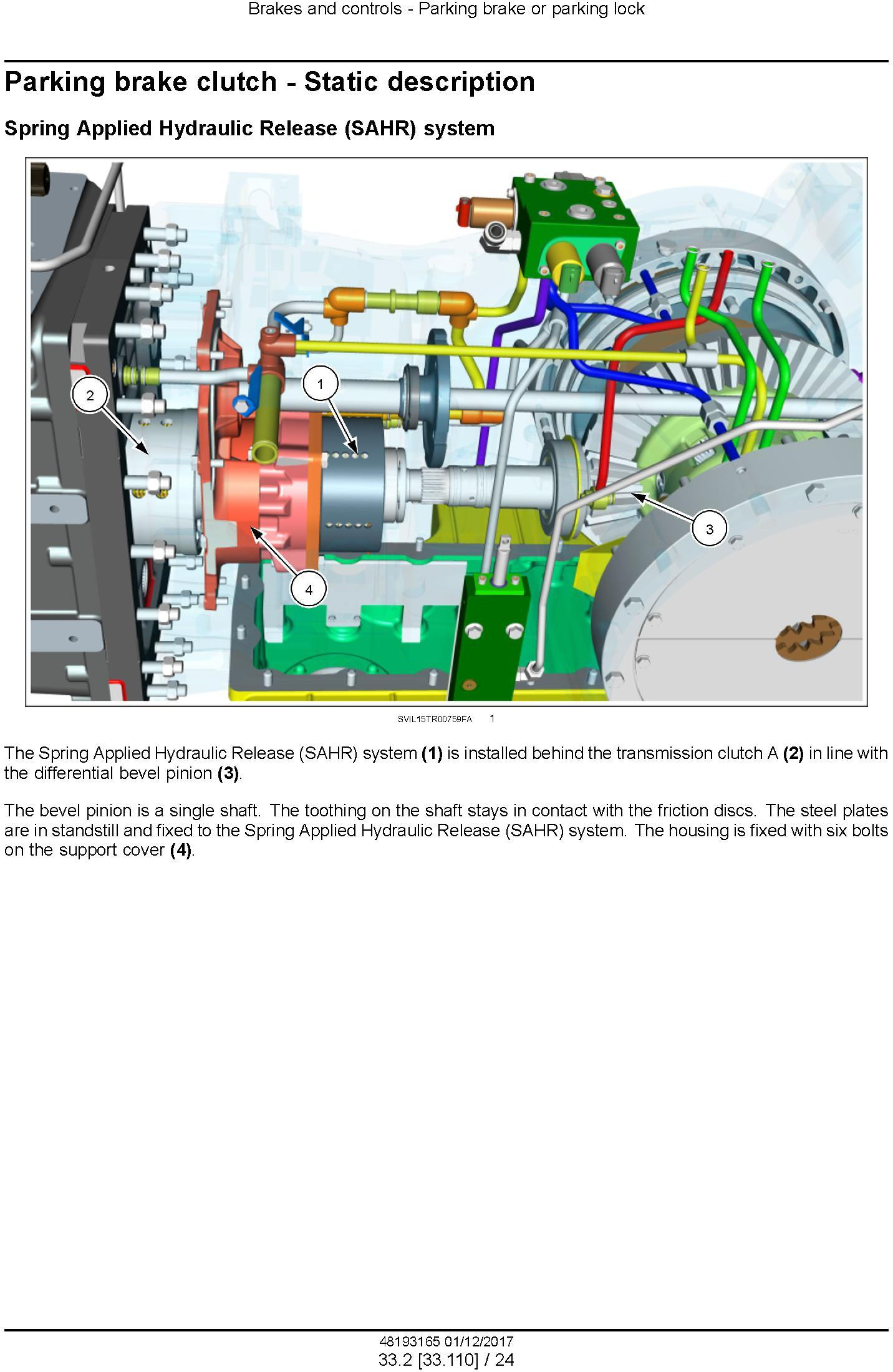 New Holland T7.290 AutoCommand, T7.315 AutoCommand Stage IV Tractor Service Manual (Europe) - 1