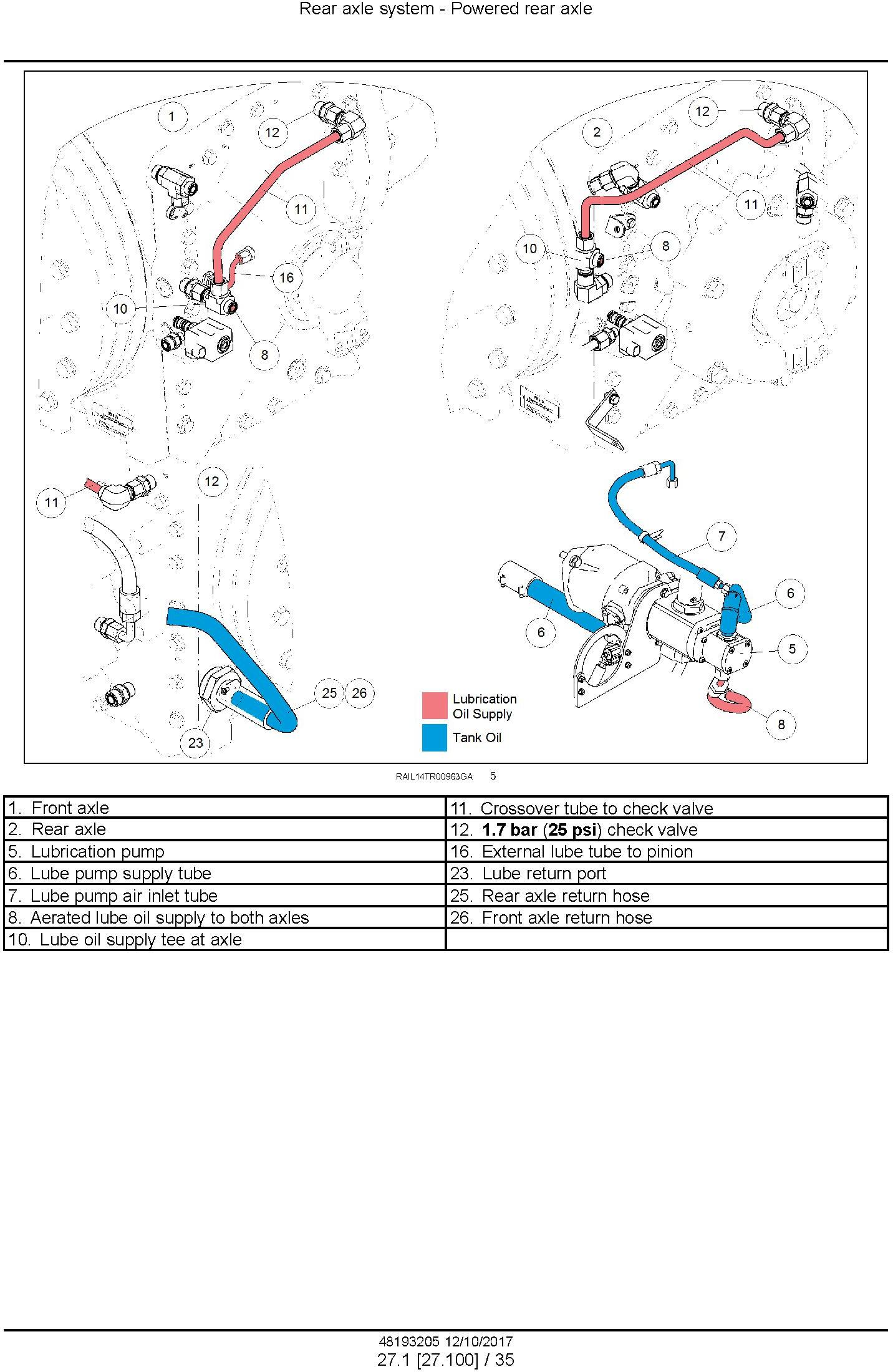 New Holland T9.435, T9.480, T9.530, T9.565, T9.600, T9.645, T9.700 Tier4B fin Tractor Service Manual - 1