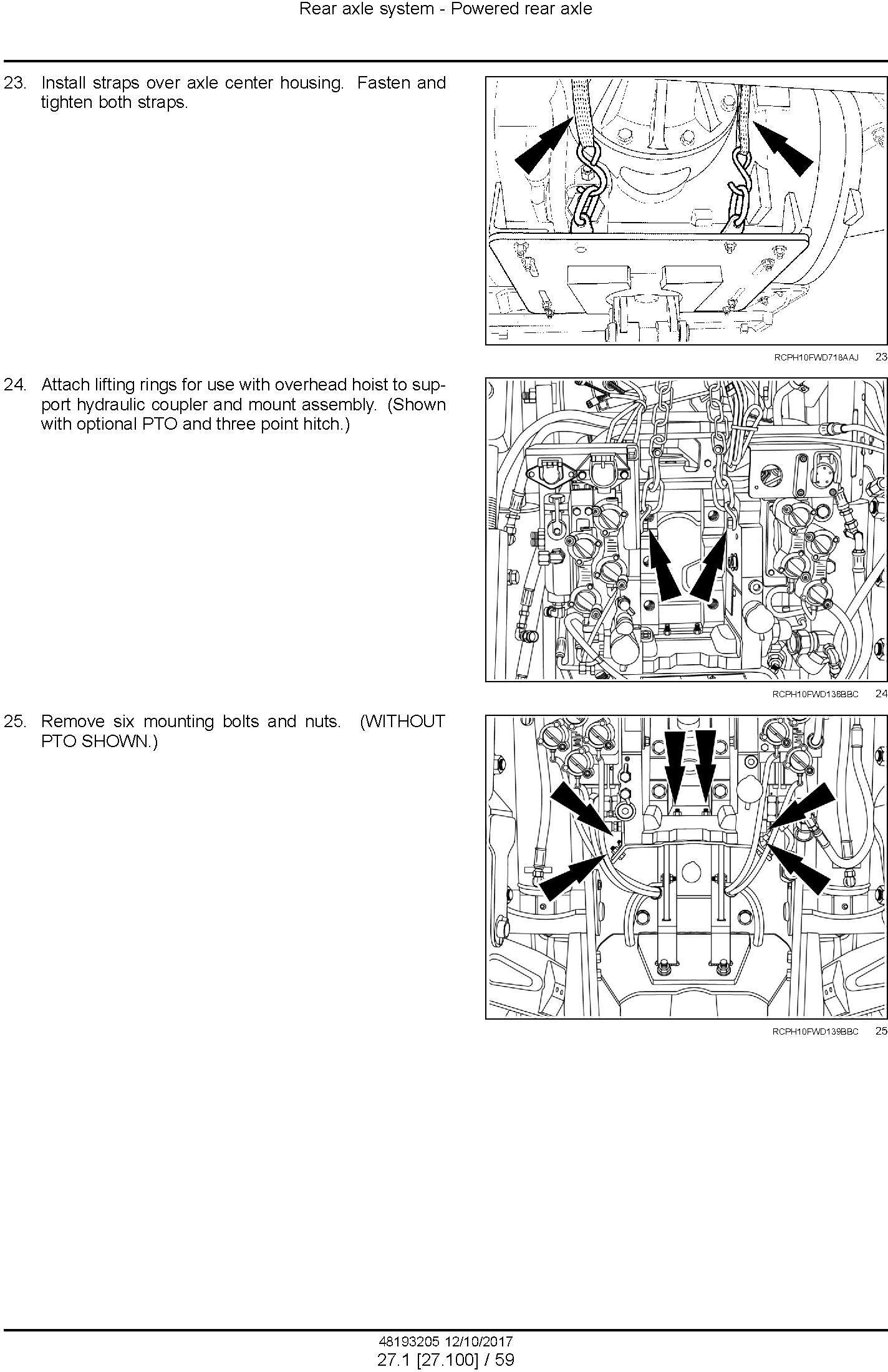 New Holland T9.435, T9.480, T9.530, T9.565, T9.600, T9.645, T9.700 Tier4B fin Tractor Service Manual - 3