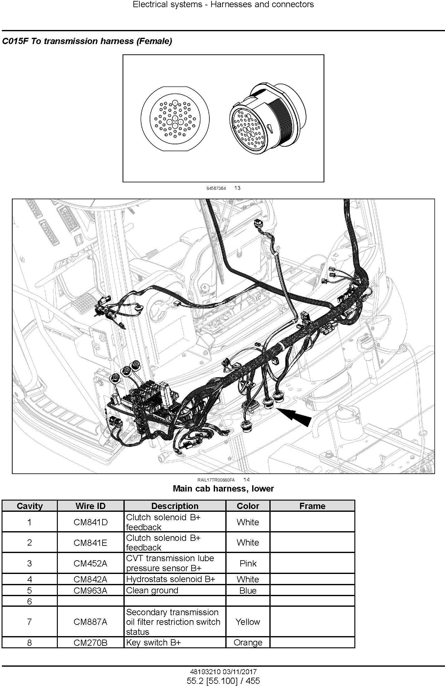 New Holland T9.435, T9.480, T9.530, T9.565, T9.600, T9.645, T9.700 Tier4B Tractor Service Manual(EU) - 3