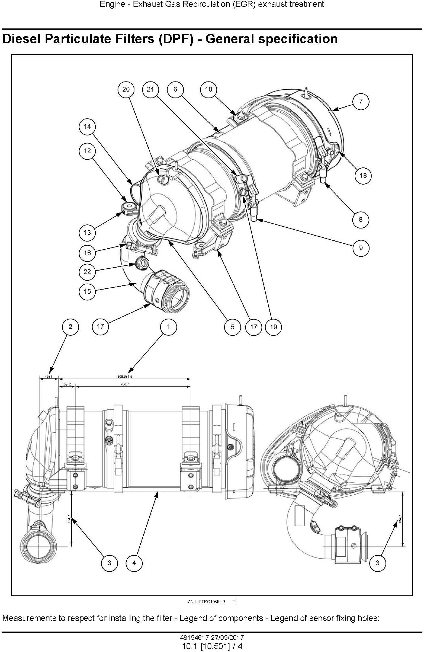 New Holland TD5.85, TD5.95, TD5.105, TD5.115 Tractor Service Manual (Europe) - 1