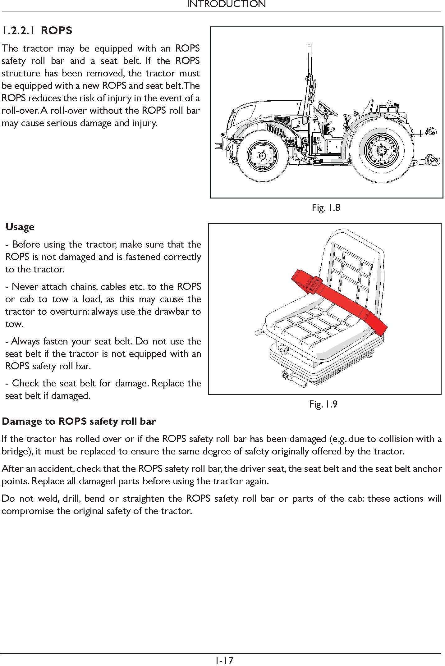 New Holland T4.90 FB, T4.100 FB, T4.110 FB Tractor Service Manual - 1