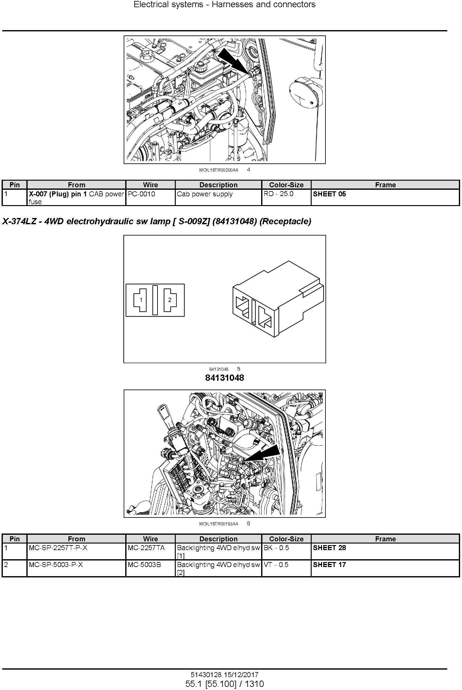 New Holland T4.80F, T4.80V, T4.90F, T4.90V, T4.100F, T4.100V, T4.110F,T4.110V Tractor Service Manual - 3