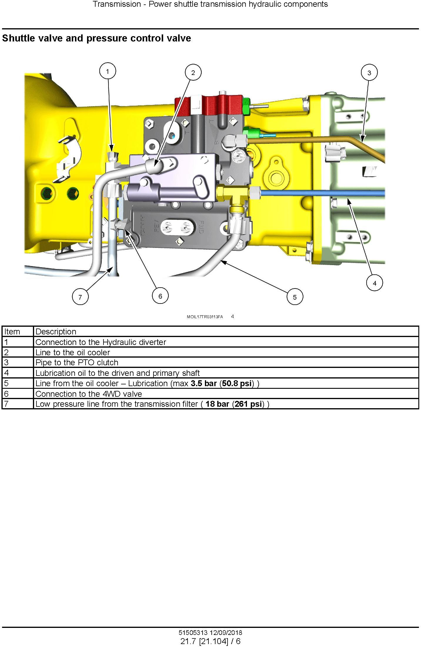 New Holland T4.55, T4.65, T4.75 Tier 4B final Stage IV Tractor Service Manual - 1