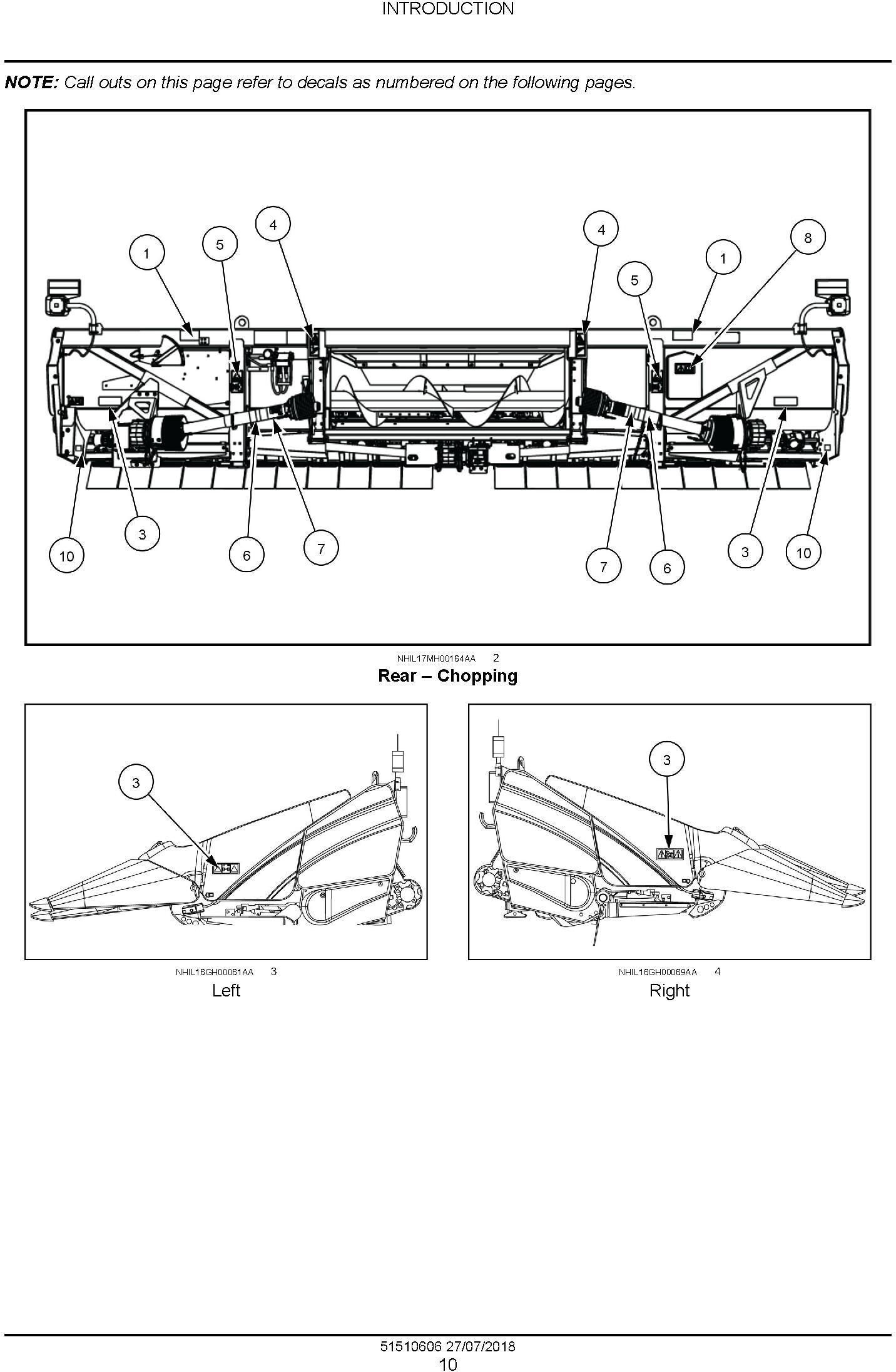 New Holland CornMaster 9208-22, 9212-20, 9212-22, 9216-20, 9216-22, 9218-20, 9218-22 Corn Header Service Manual - 1