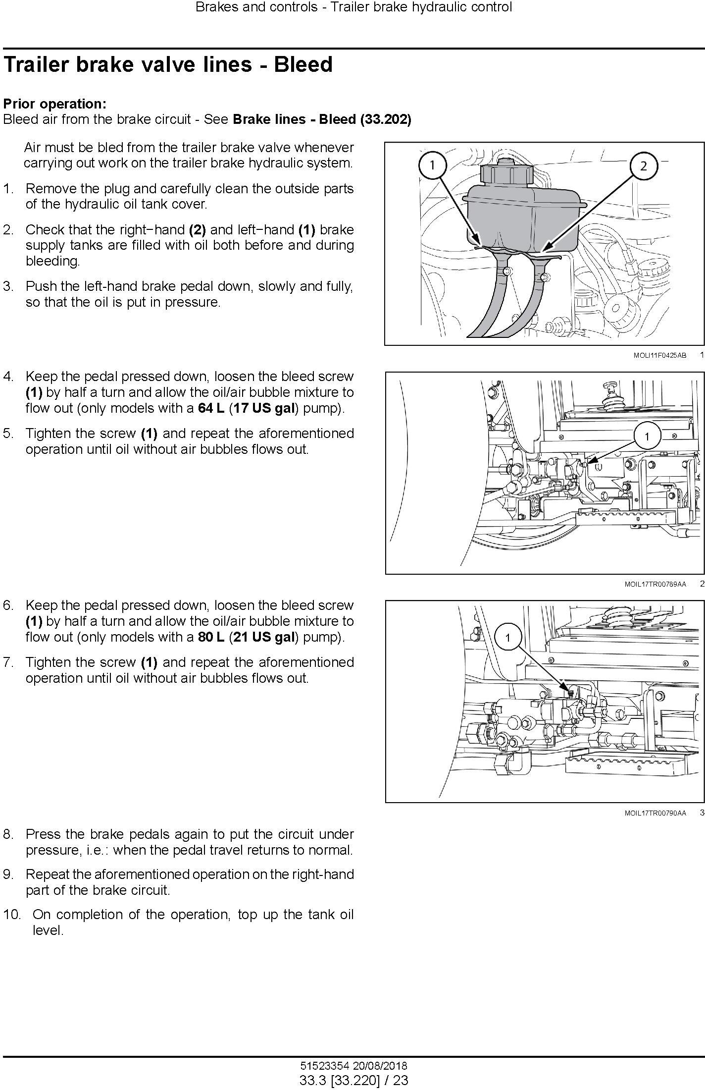 New Holland T4.80F, T4.90F, T4.100F, T4.110F Tractor Service Manual (Australia, NZ, Latin Amereca) - 2