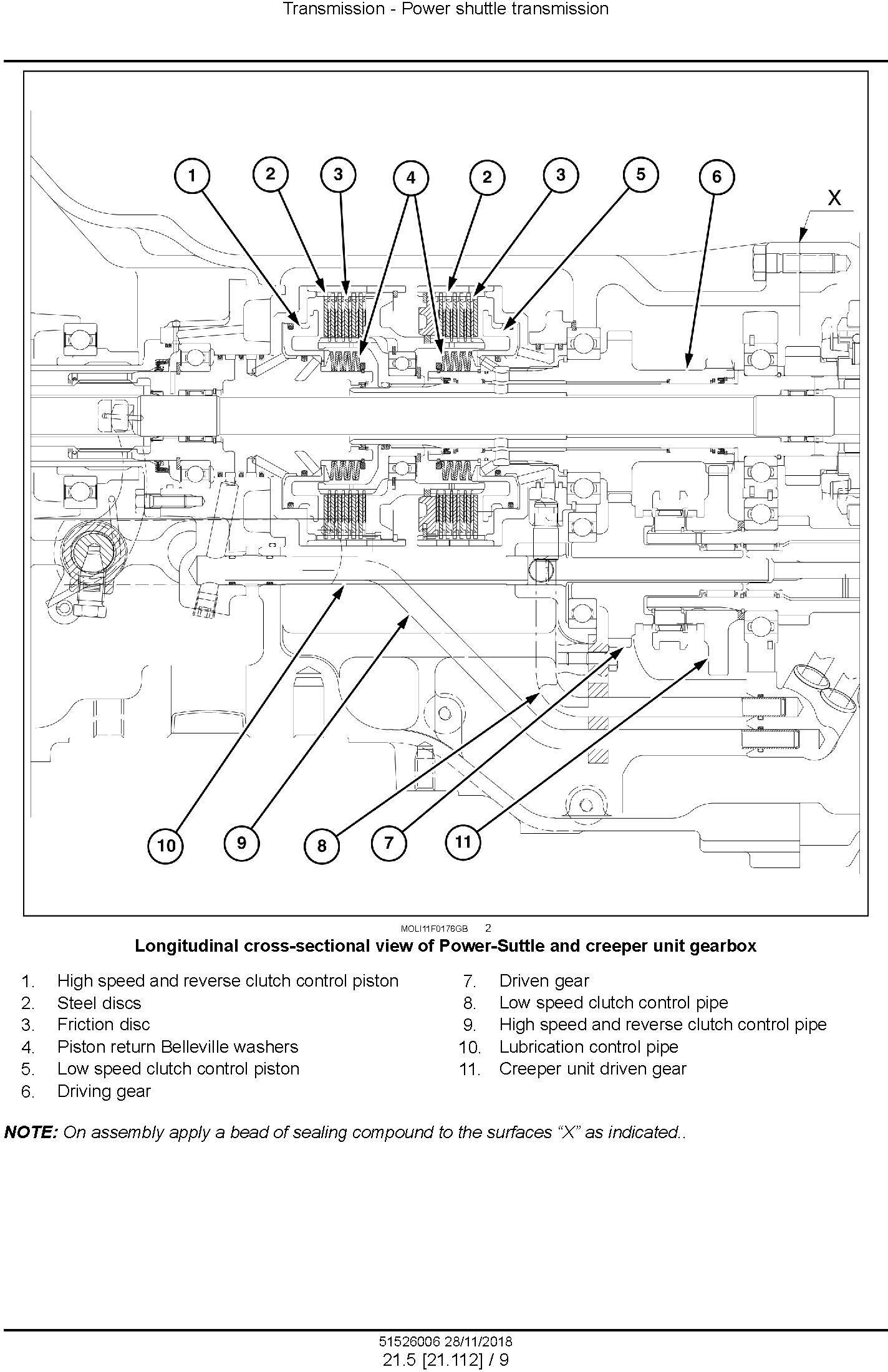 New Holland T4.80F/LP, T4.90F/LP, T4.100F/LP, T4.110F/LP Tier4A interim Tractor Service Manual (USA) - 2