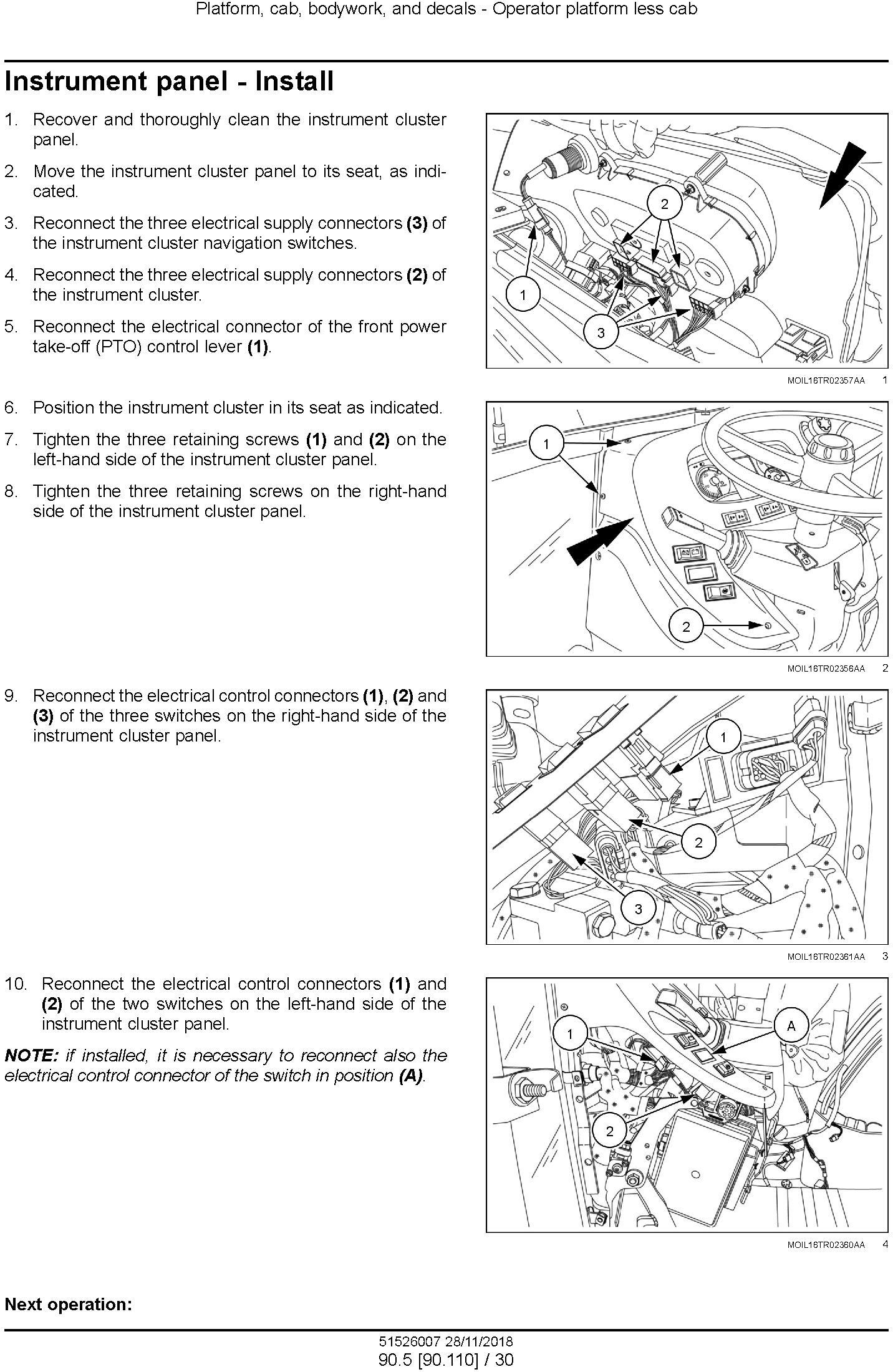 New Holland T4.80V/N, T4.90V/N, T4.100V/N, T4.110V/N Tractor Tier 4A and StageIIIB Service Manual - 3