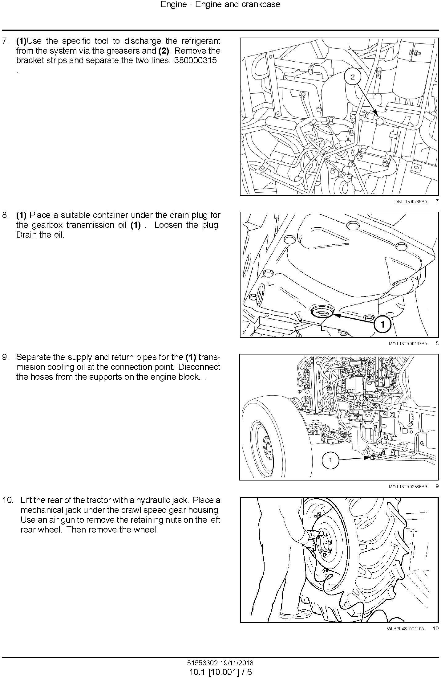 New Holland T3.60F, T3.70F, T3.80F Tractor Service Manual (North America) - 1