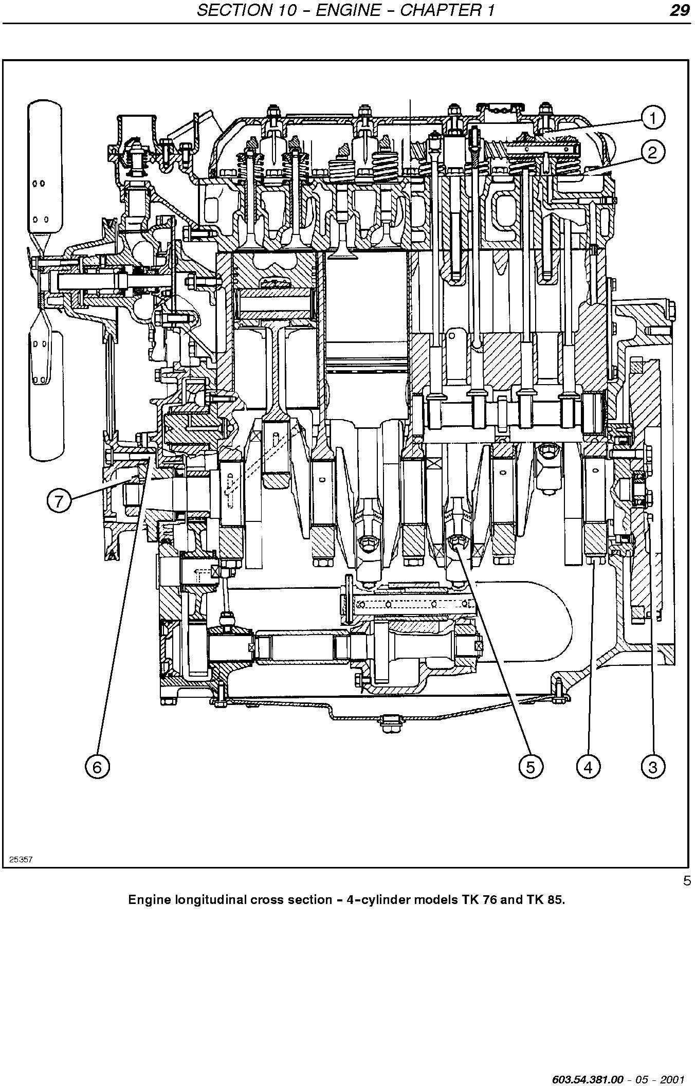New Holland TK65, TK75(A),TK76, TK85,TK95, TK70A,TK80A, TK90A, TK100A Crawler Tractor Service Manual - 1
