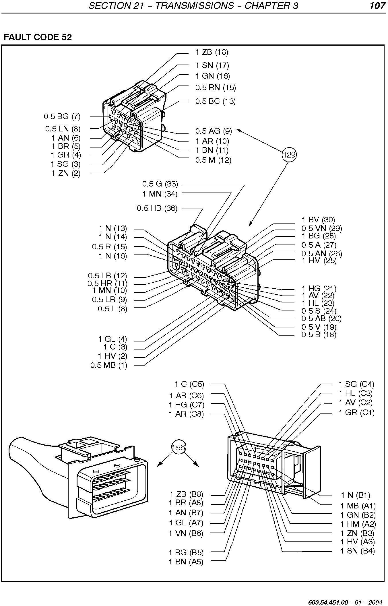 New Holland TN75FA, TN85FA, TN95FA Tractors Service Manual - 1