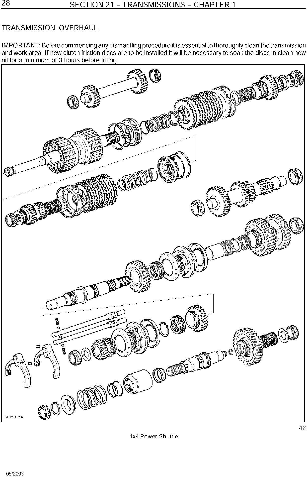 New Holland LB75.B, LB90.B, LB95.B, LB110.B, LB115.B Backhoe Loader Repair Manual - 3