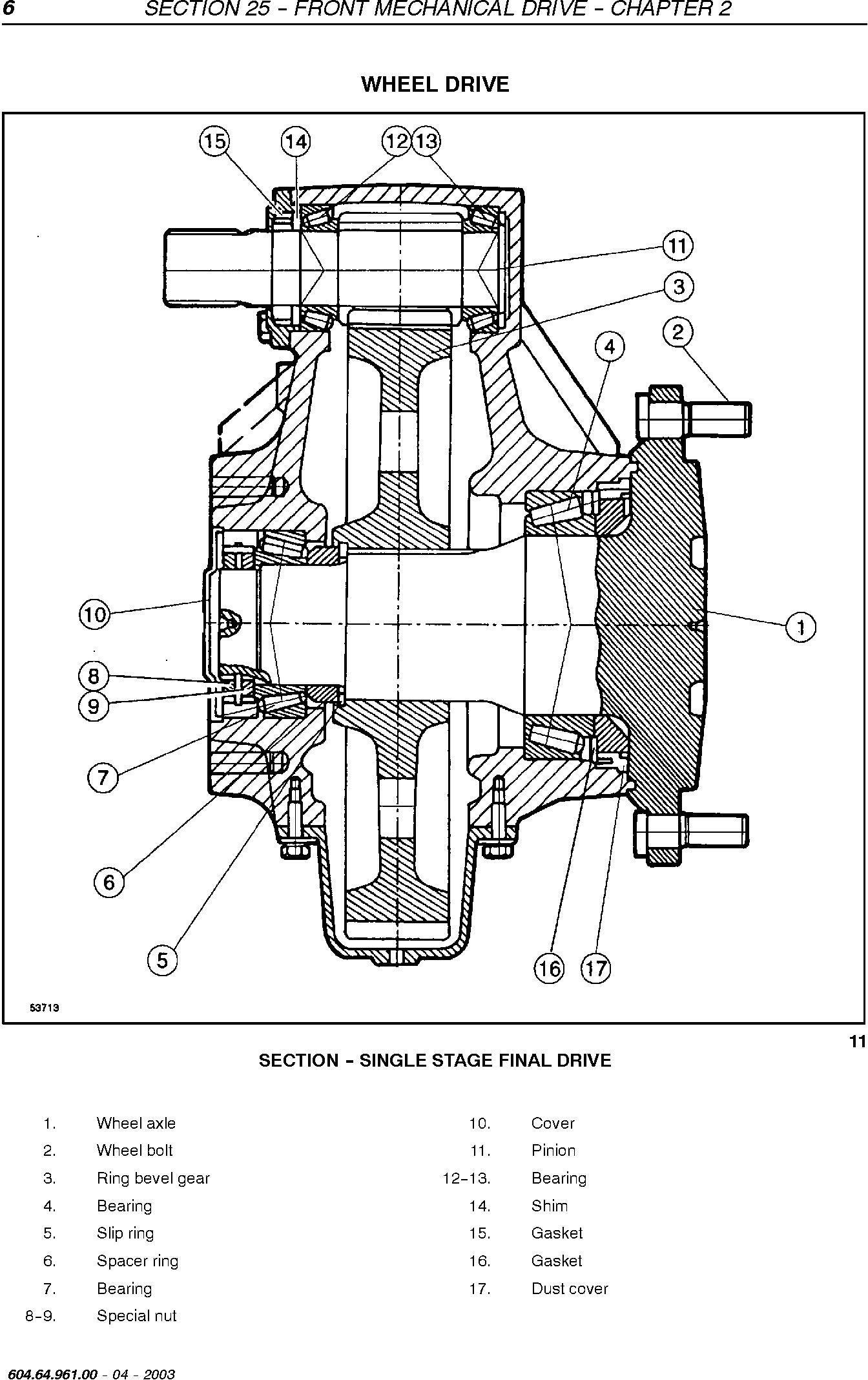 New Holland TC54, TC56, AL59 Utility Combine Service Manual - 2