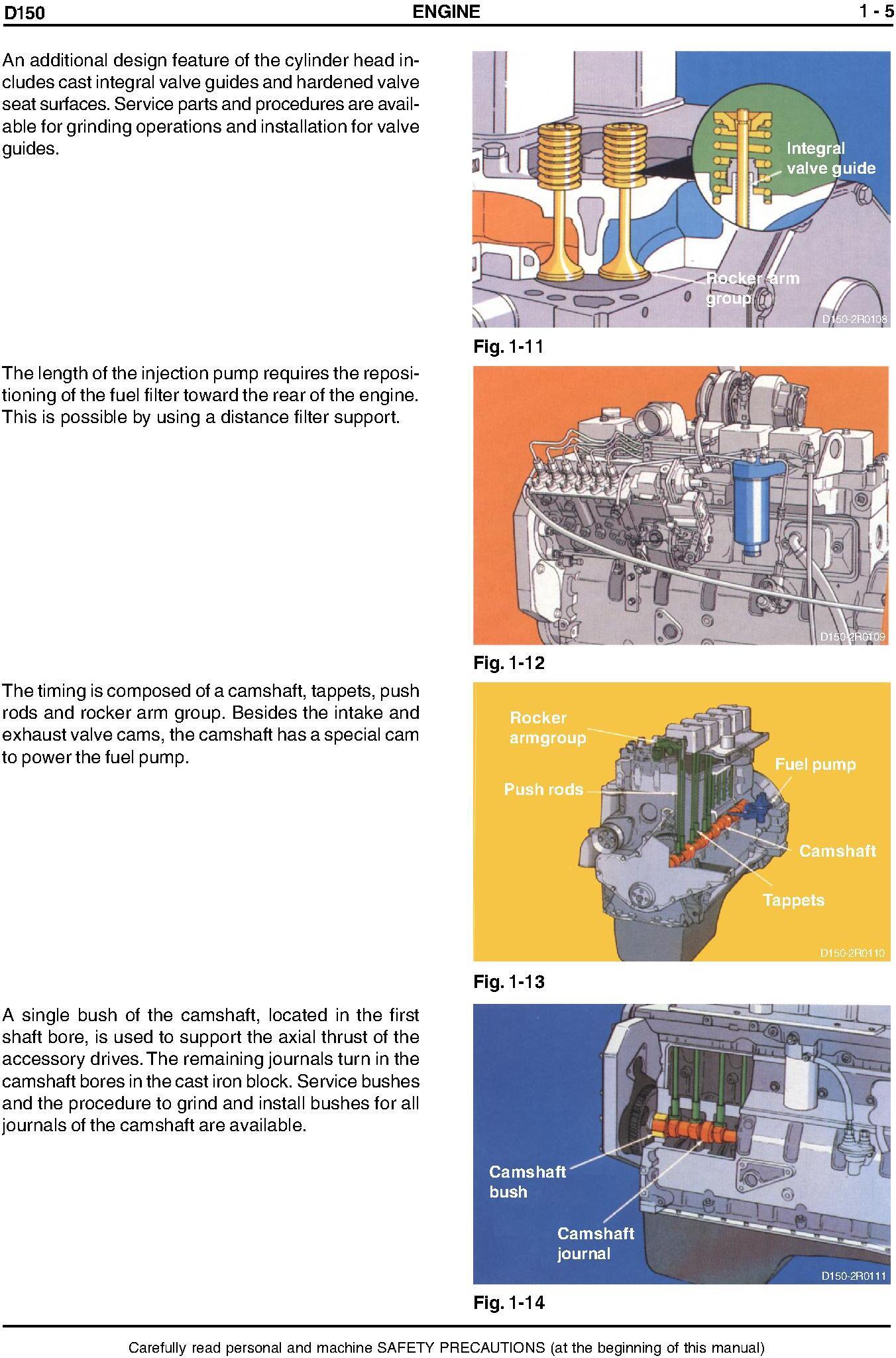 New Holland D150 Tier Crawler Dozer 2 Service Manual - 2