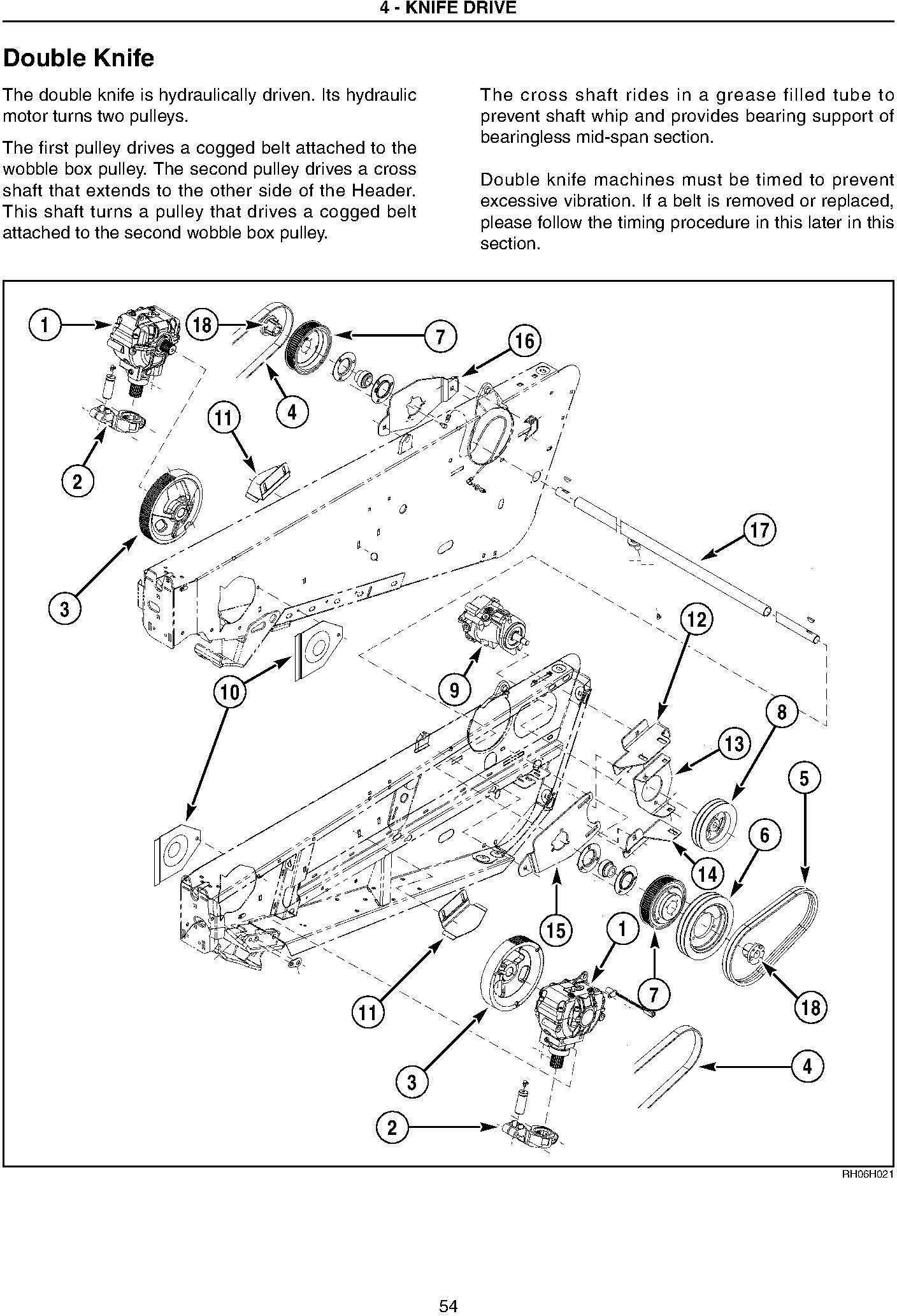 New Holland 82C, 83C Draper Header, CA20 Combine Adapter (Russian and Australia only) Service Manual - 2