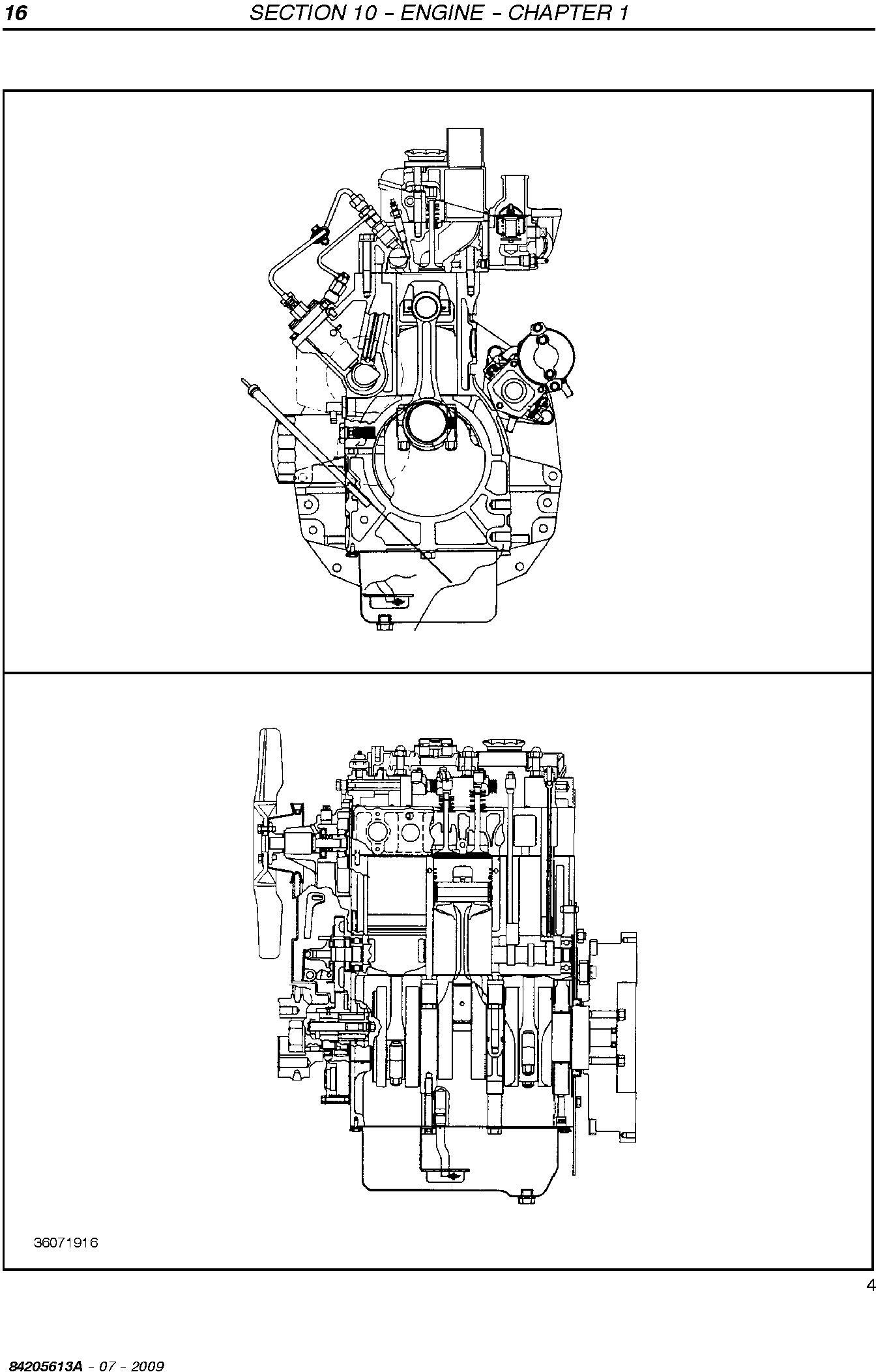 New Holland T1560, T1570 Compact Tractor Service Manual - 2