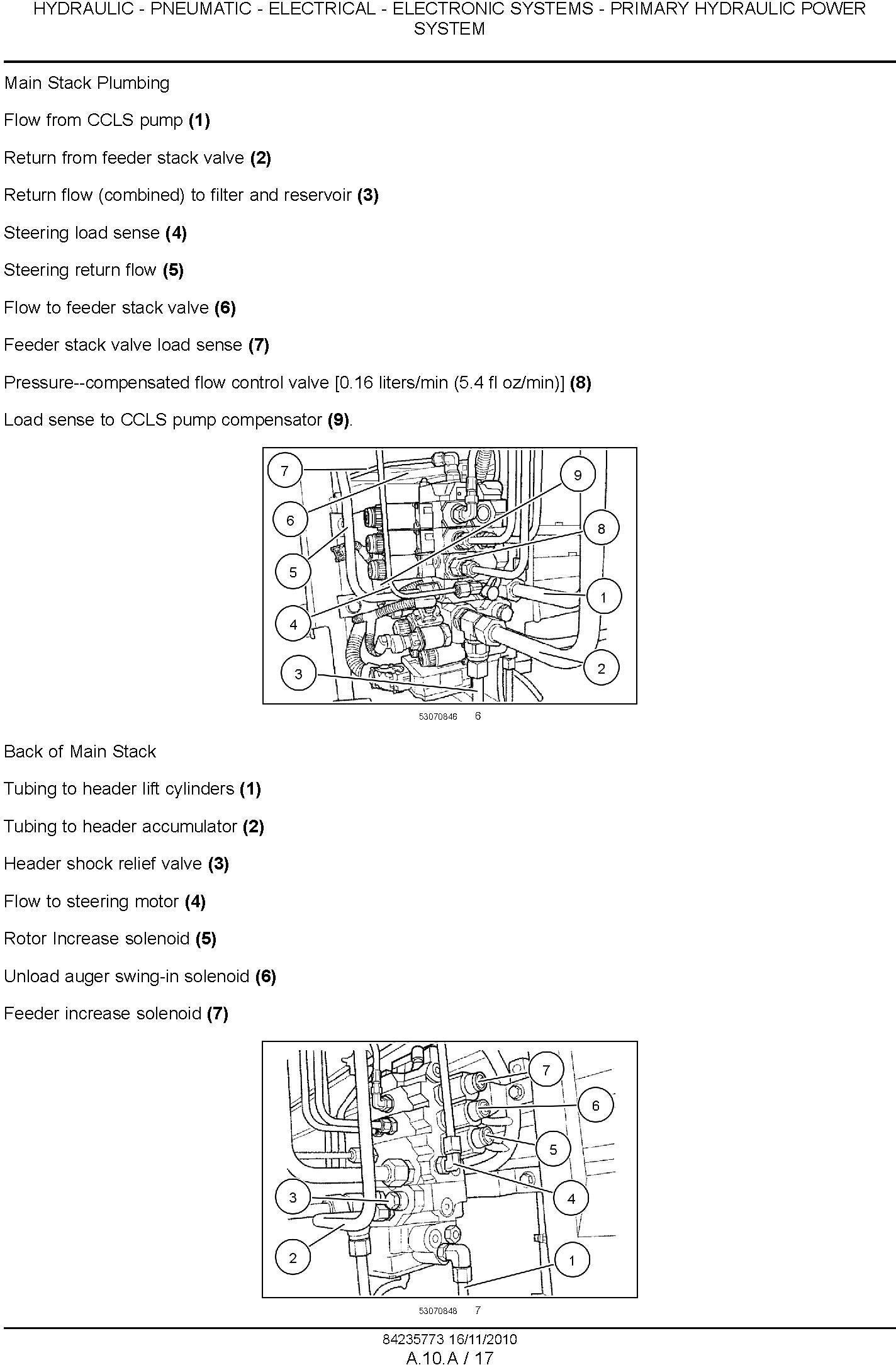 New Holland CR9040, CR9060, CR9065, CR9070, CR9080 Combine (SN. HAJ110001 & Up) Service Manual - 3